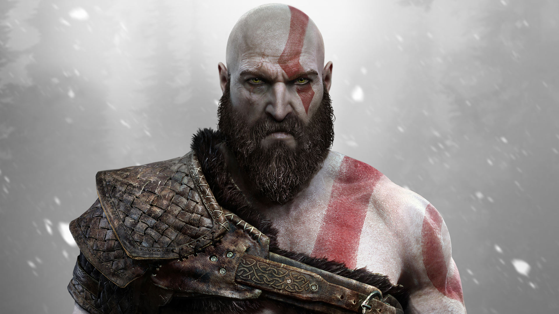 1920x1080 God Of War Kratos Sony Santa Monica 1080p Laptop