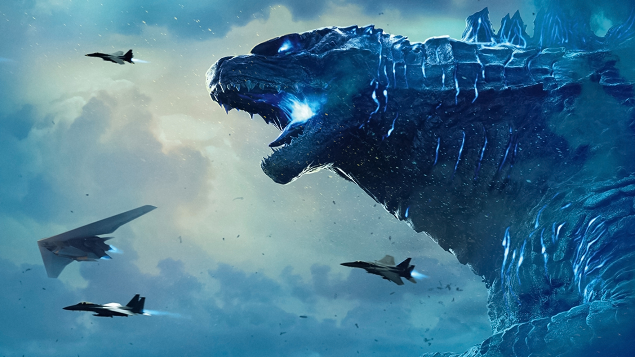 2048x1152 Godzilla 4k 8k Banner 2048x1152 Resolution