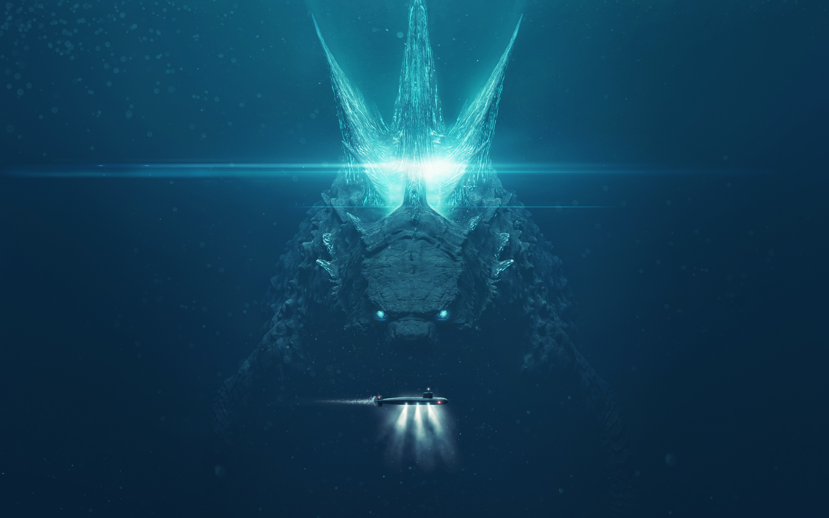 2880x1800 Godzilla King Of The Monsters 2019 Poster Macbook Pro