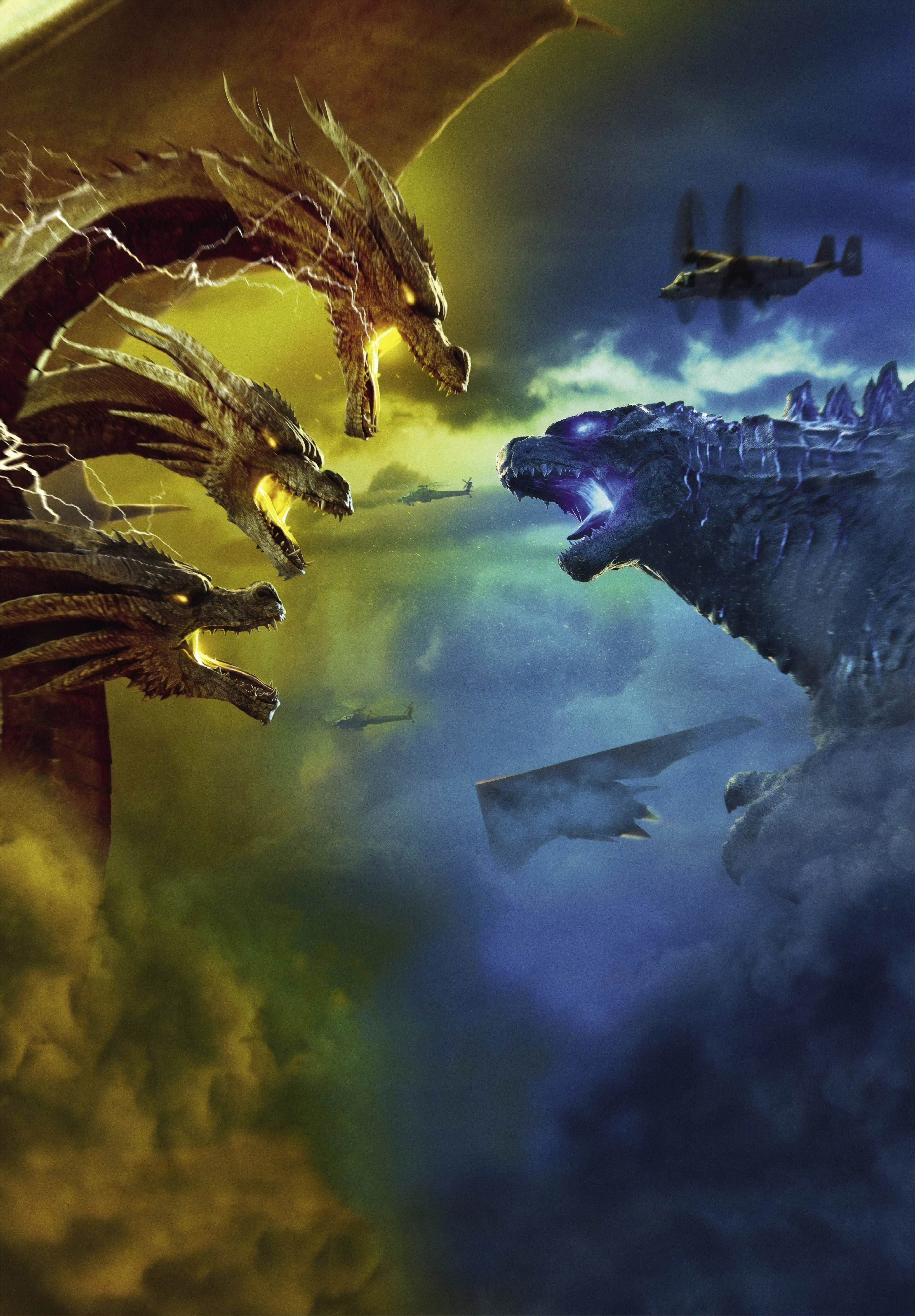Godzilla King of the Monsters 4K Wallpaper, HD Movies 4K ...
