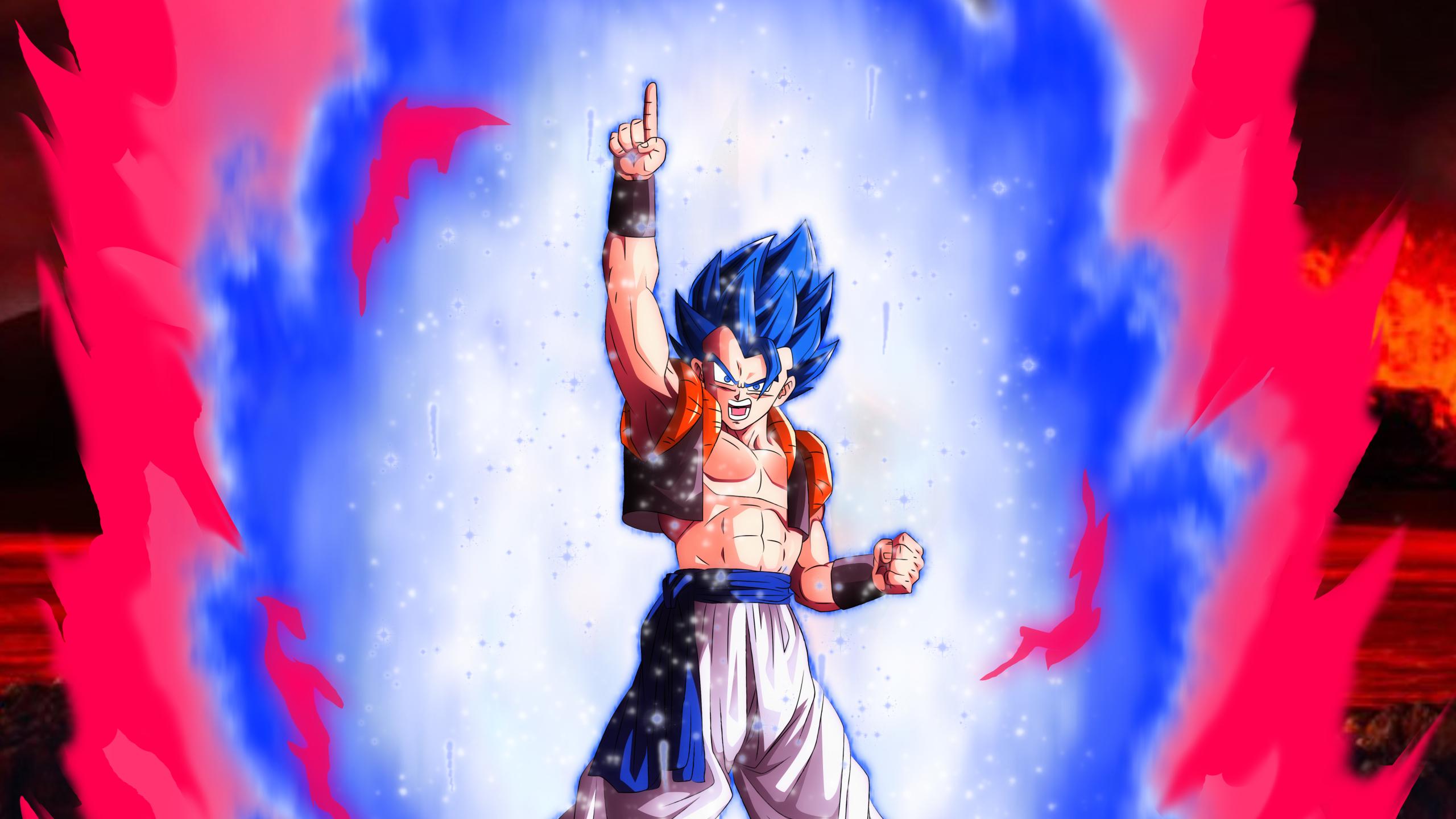 2560x1440 Gogeta Ssbx10 1440p Resolution Wallpaper Hd Anime 4k