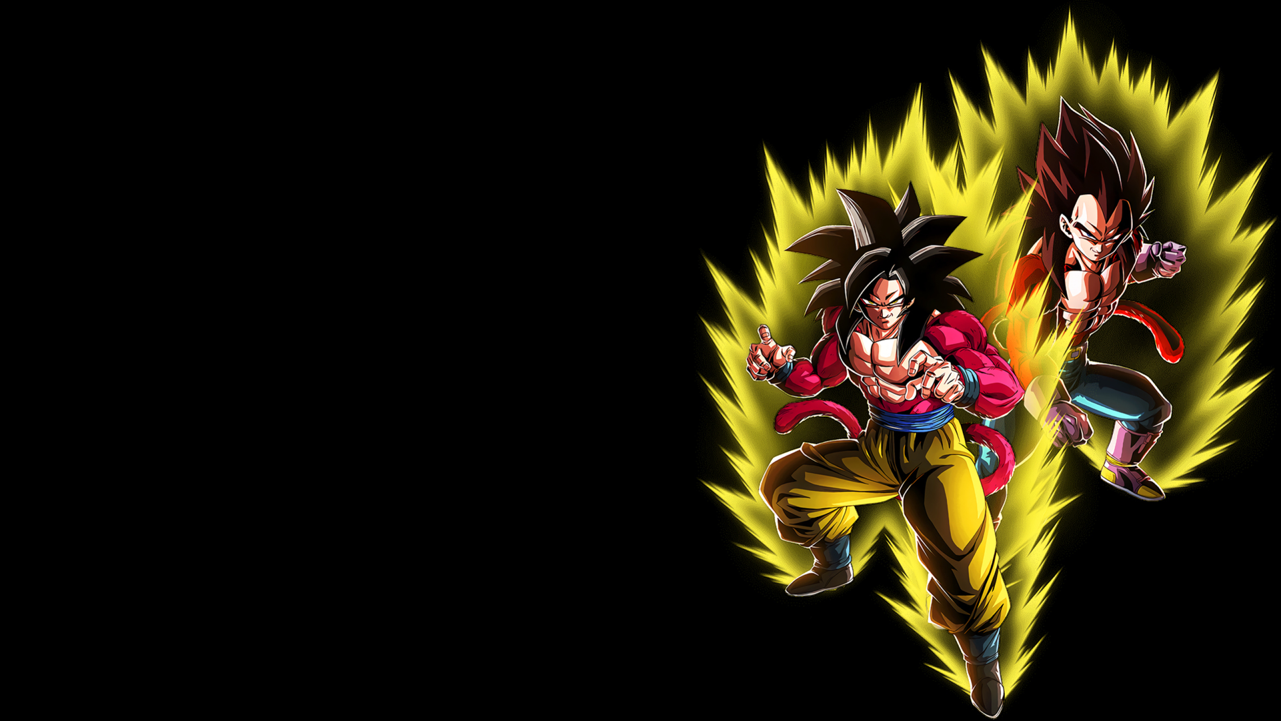 2560x1440 Goku Vegeta Ssj4 1440p Resolution Wallpaper Hd