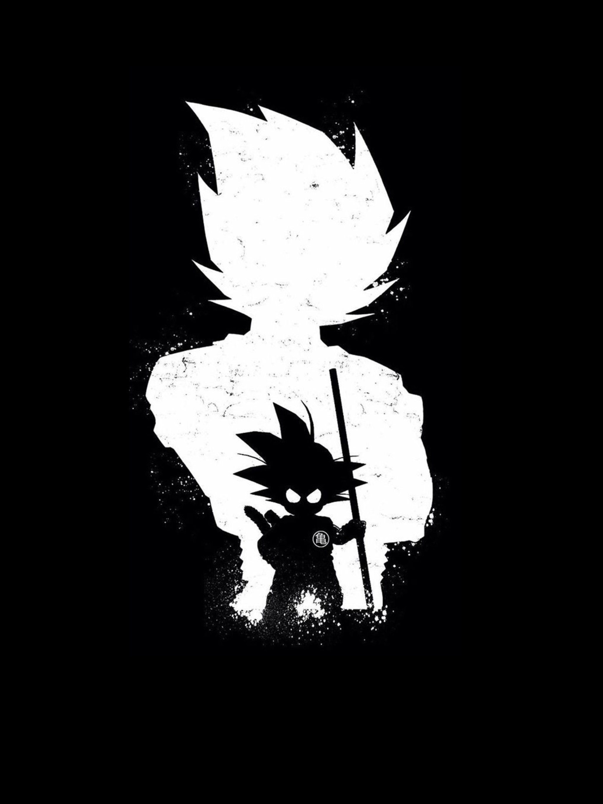 2048x2732 Goku Anime Dark Black 2048x2732 Resolution Wallpaper Hd