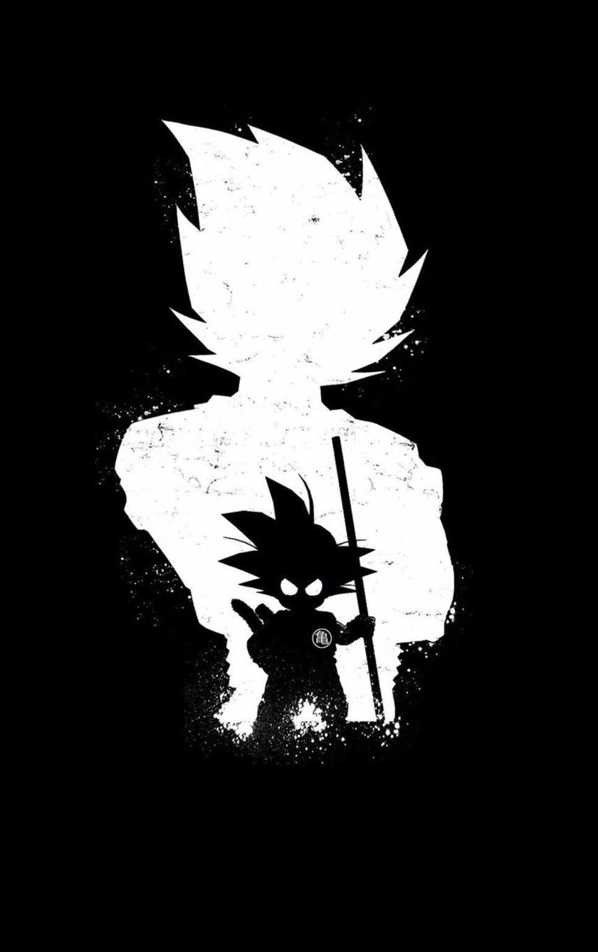 Wonderful Wallpaper Anime Iphone 5c - goku-anime-dark-black_59910_840x1336  2018_37549      .jpg