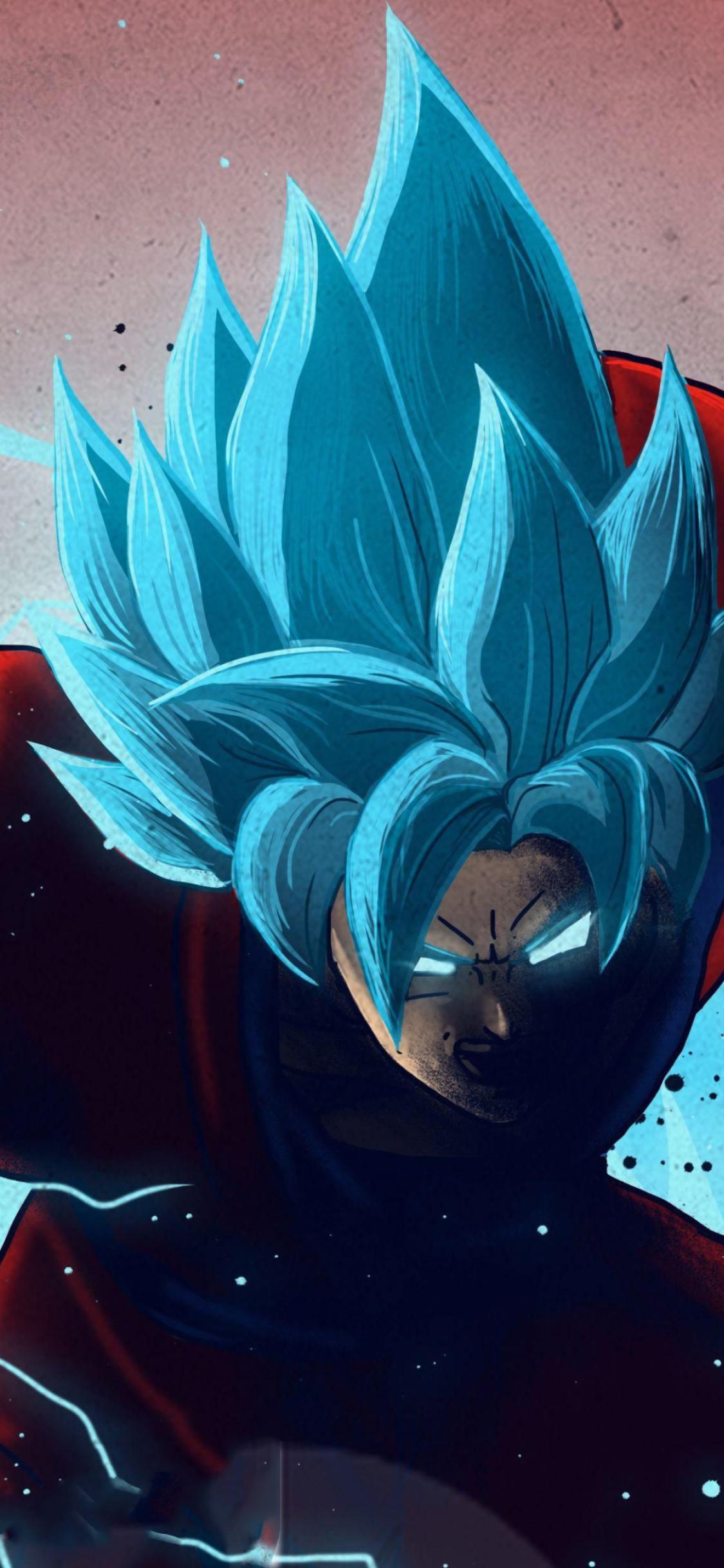 1125x2436 Goku Dragon Ball 4K Art Iphone XS,Iphone 10,Iphone X Wallpaper, HD Anime 4K Wallpapers ...