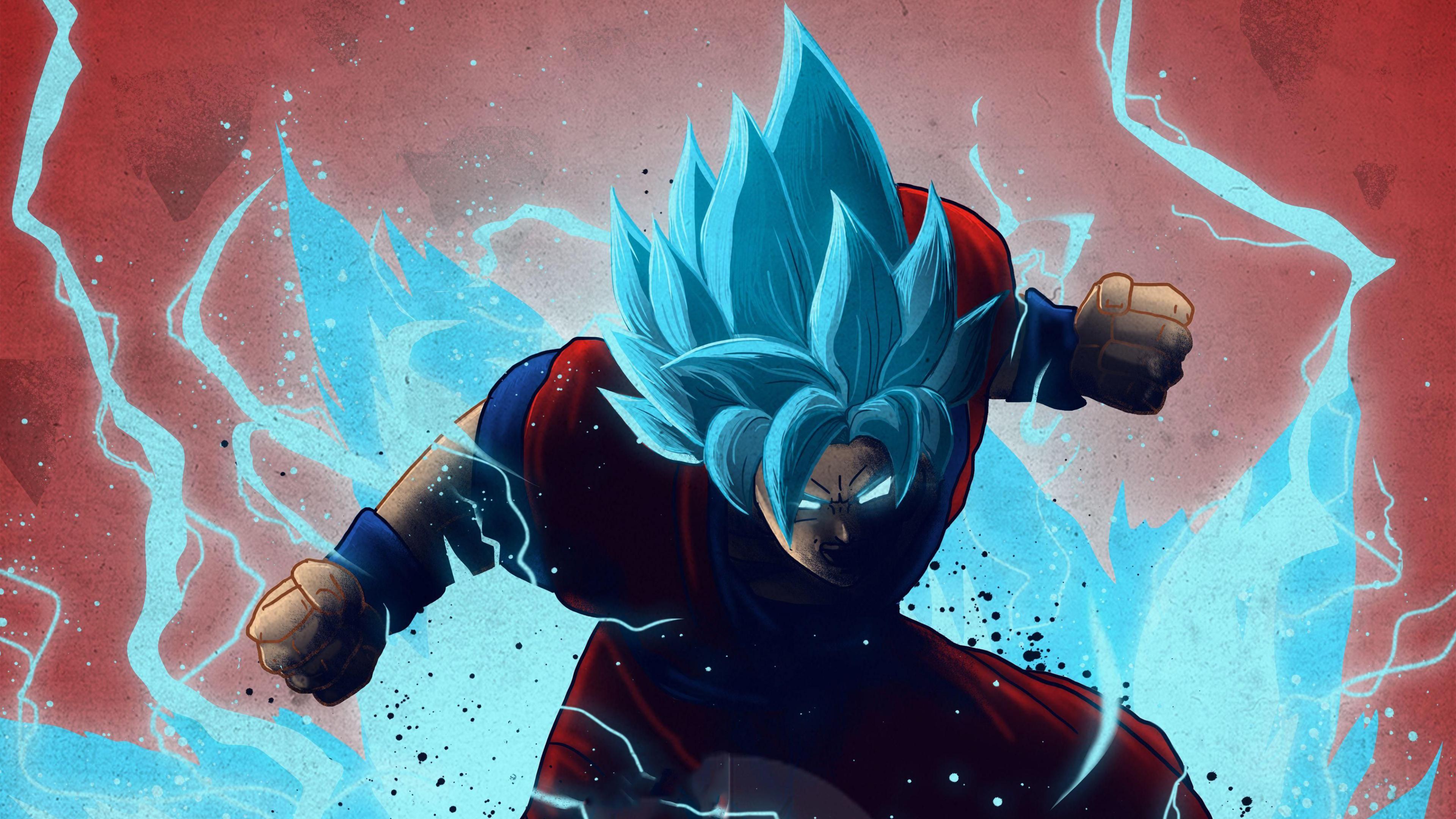 Goku Dragon Ball 4K Art Wallpaper, HD Anime 4K Wallpapers ...