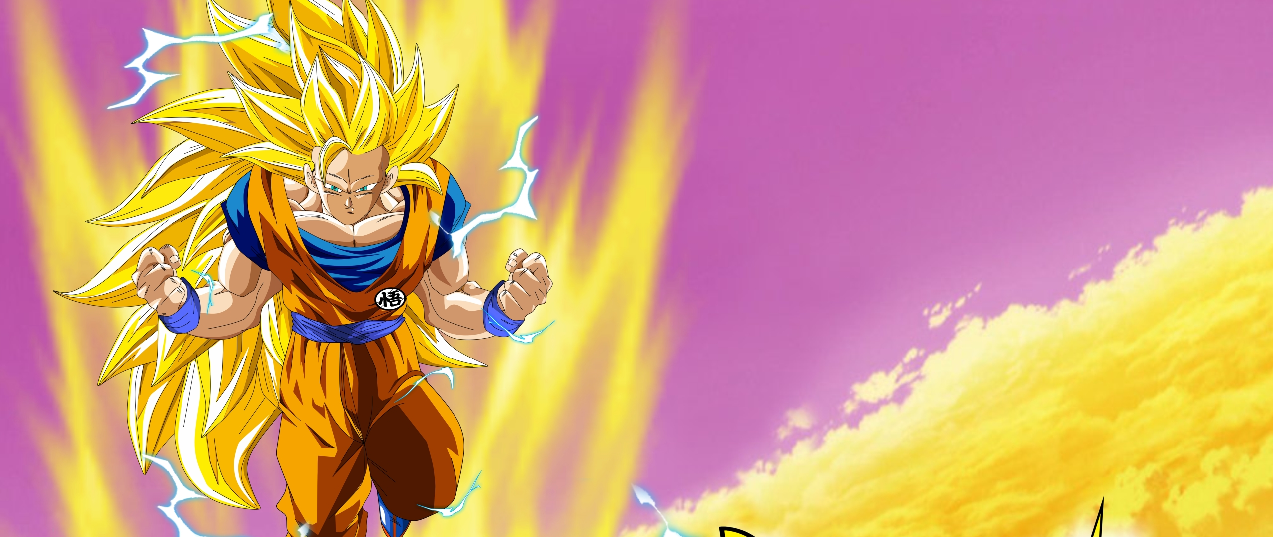 Download Goku, Dragon Ball Super, Super Saiyan 3 320x480