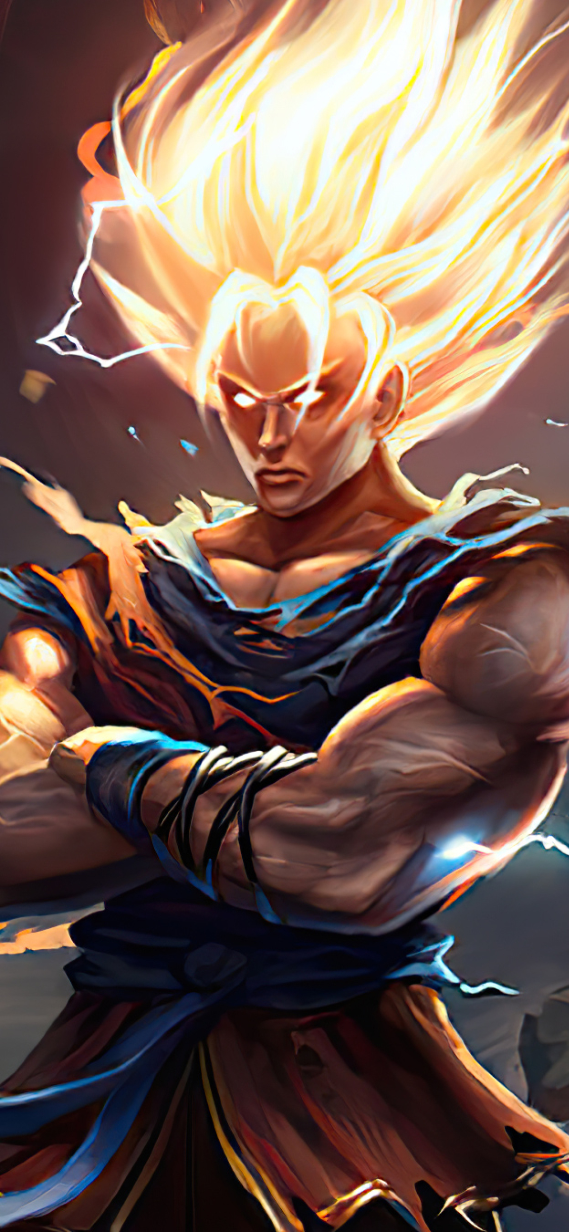 1125x2436 Goku New Dragon Ball Z Art Iphone XS,Iphone 10 ...