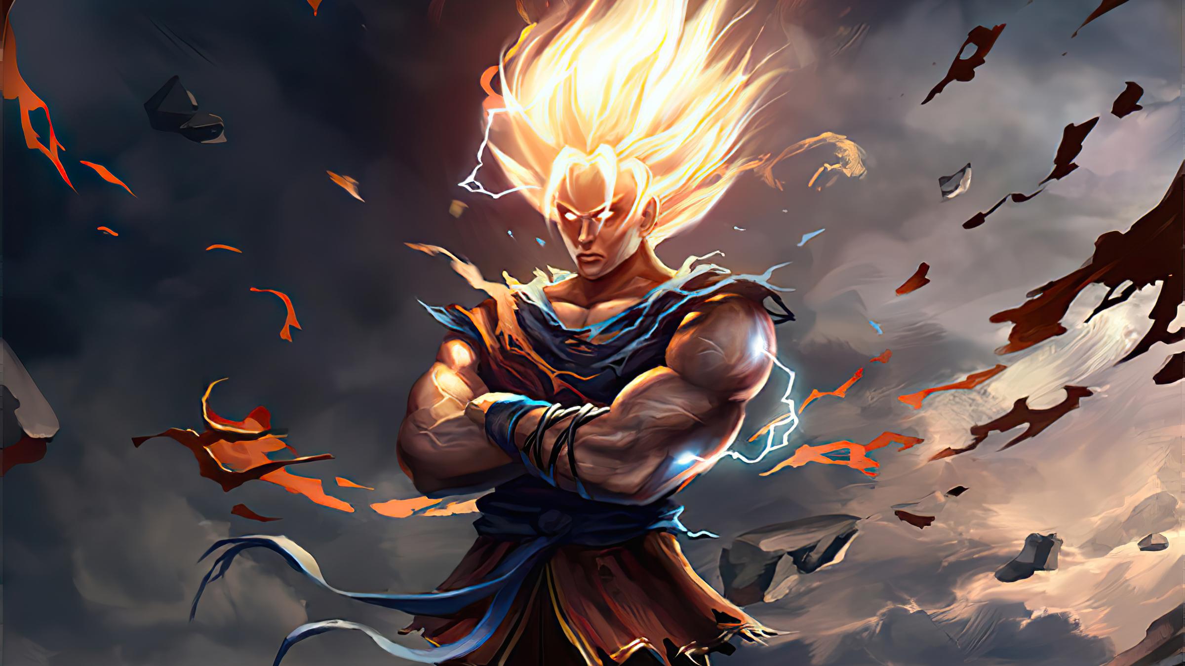 3840x2160 Goku New Dragon Ball Z Art 4K Wallpaper, HD ...