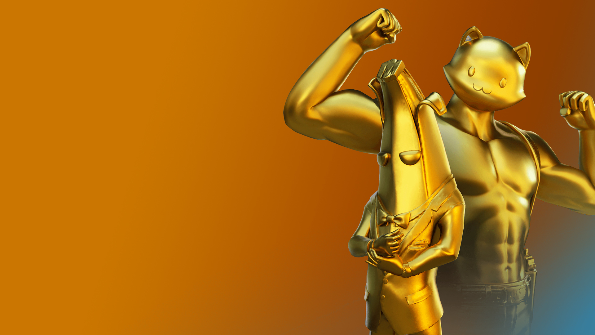 1920x1200 Gold Agent Peely And Meowscles Fortnite Season 12 Skin 1200p Wallpaper Hd Games 4k Wallpapers Images Photos And Background