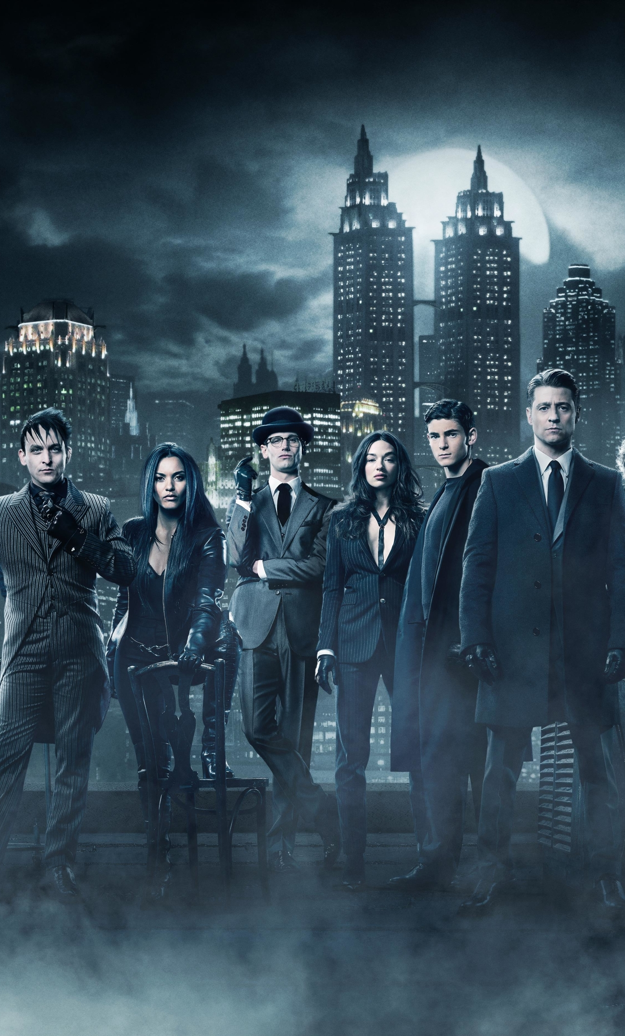 Gotham season 4 cast hd 4k wallpaper - Gotham wallpaper ...