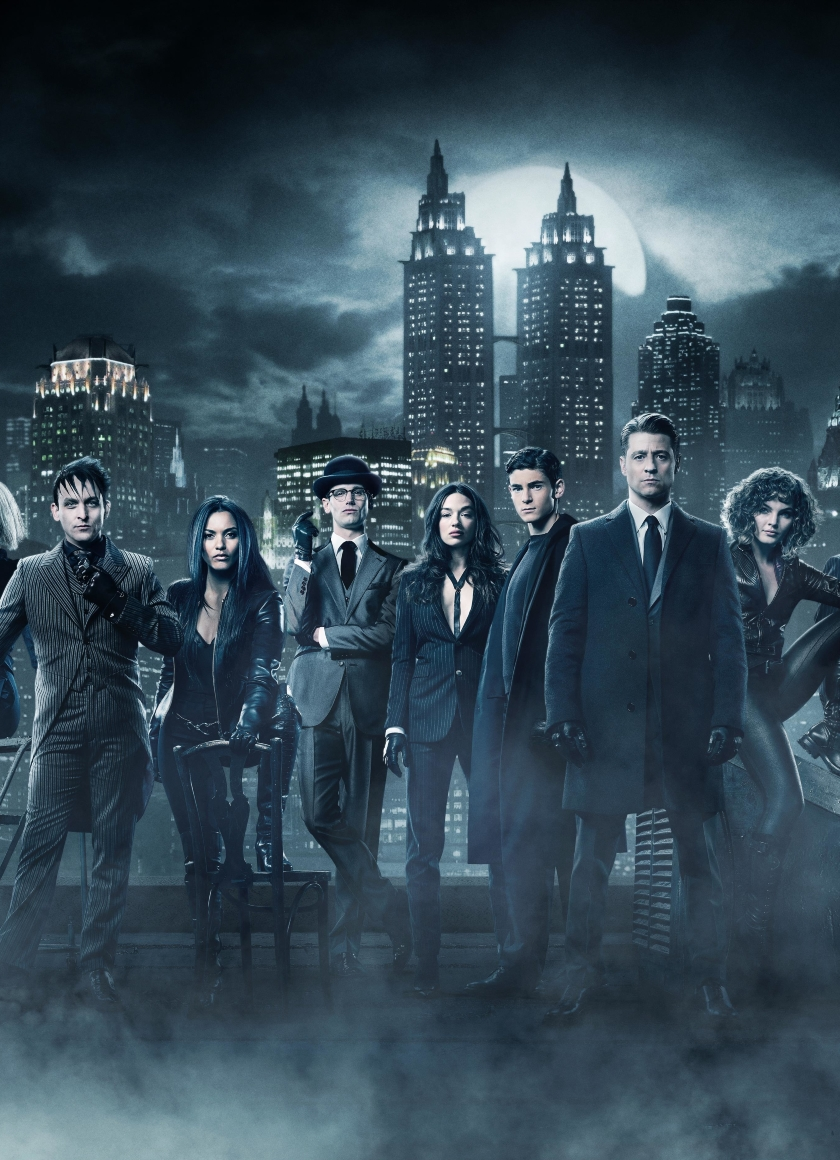 Gotham Season 4 Cast Hd 4k Wallpaper