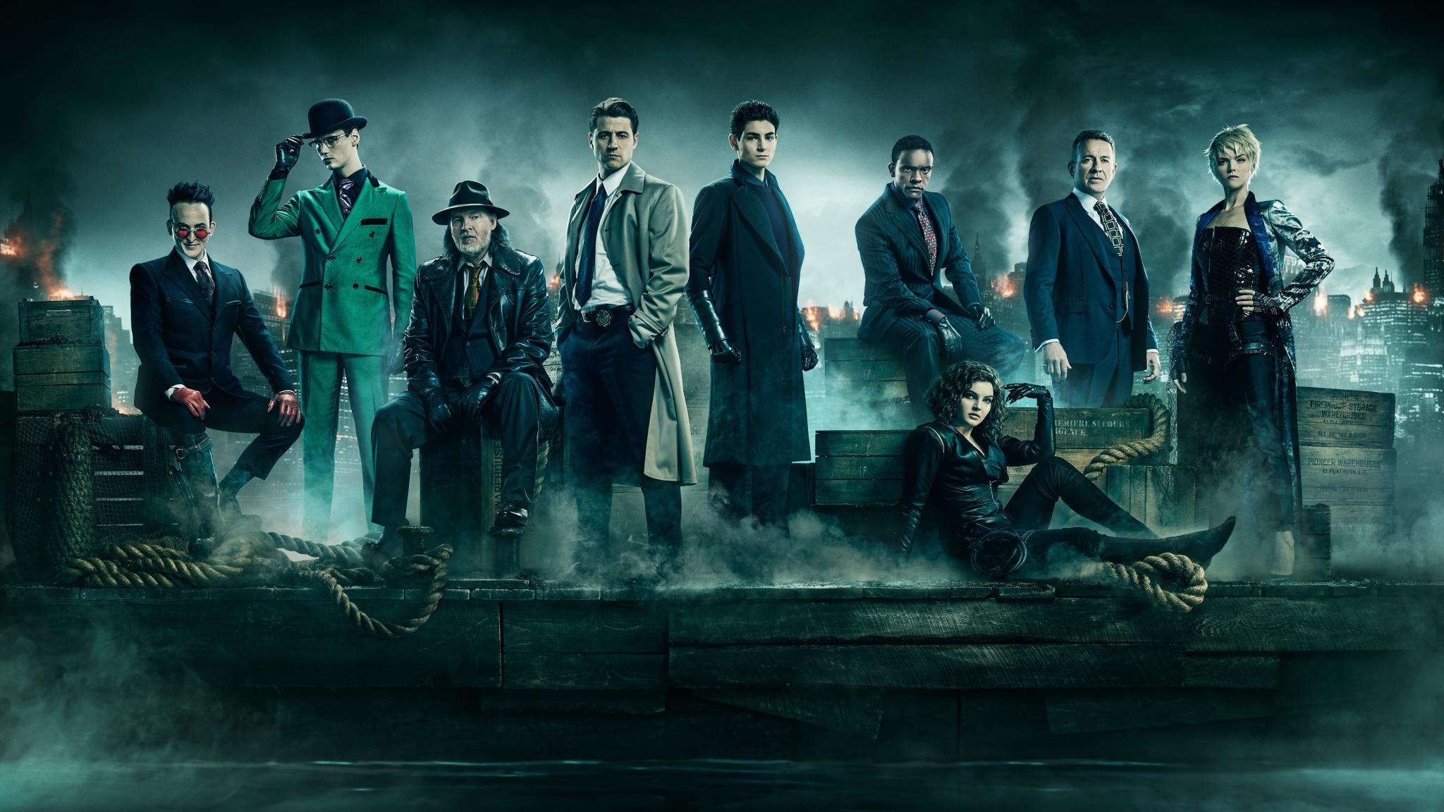 2048x1152 Gotham Season 5 2048x1152 Resolution Wallpaper Hd