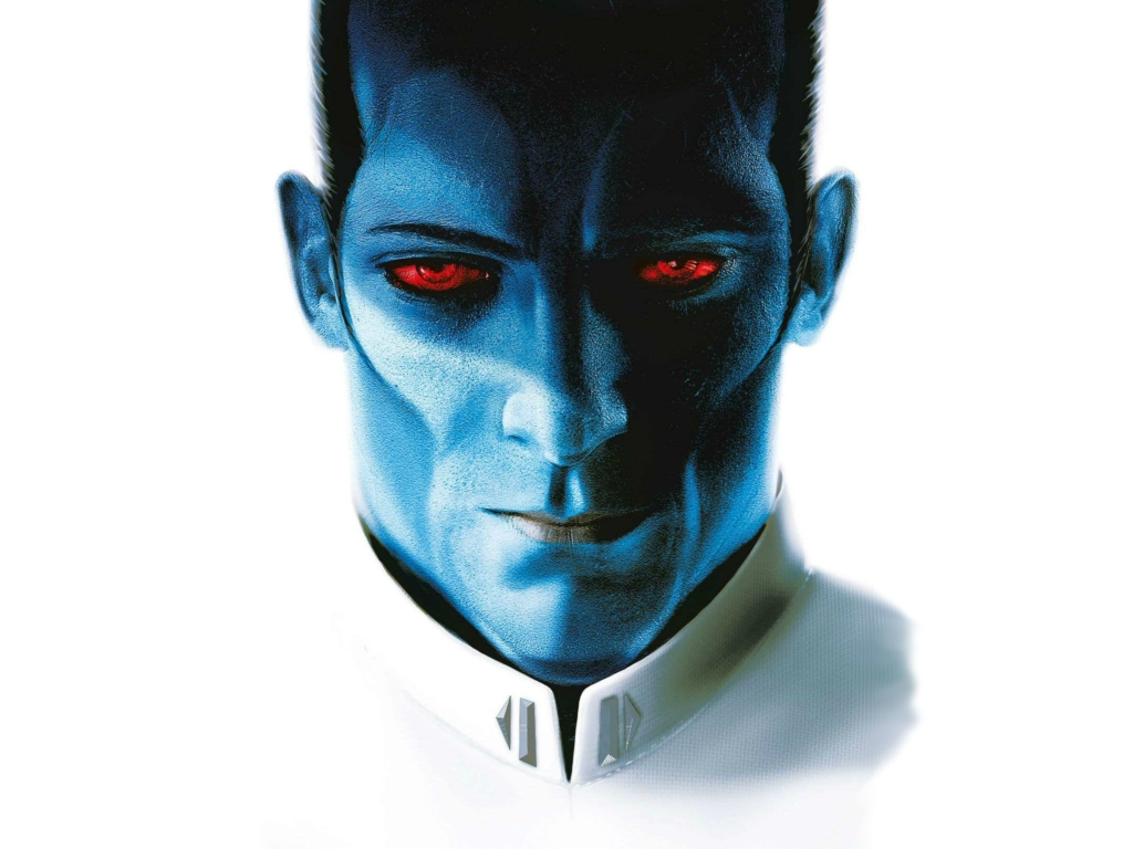 Grand Admiral Thrawn Star Wars Rebels Hd 4k Wallpaper