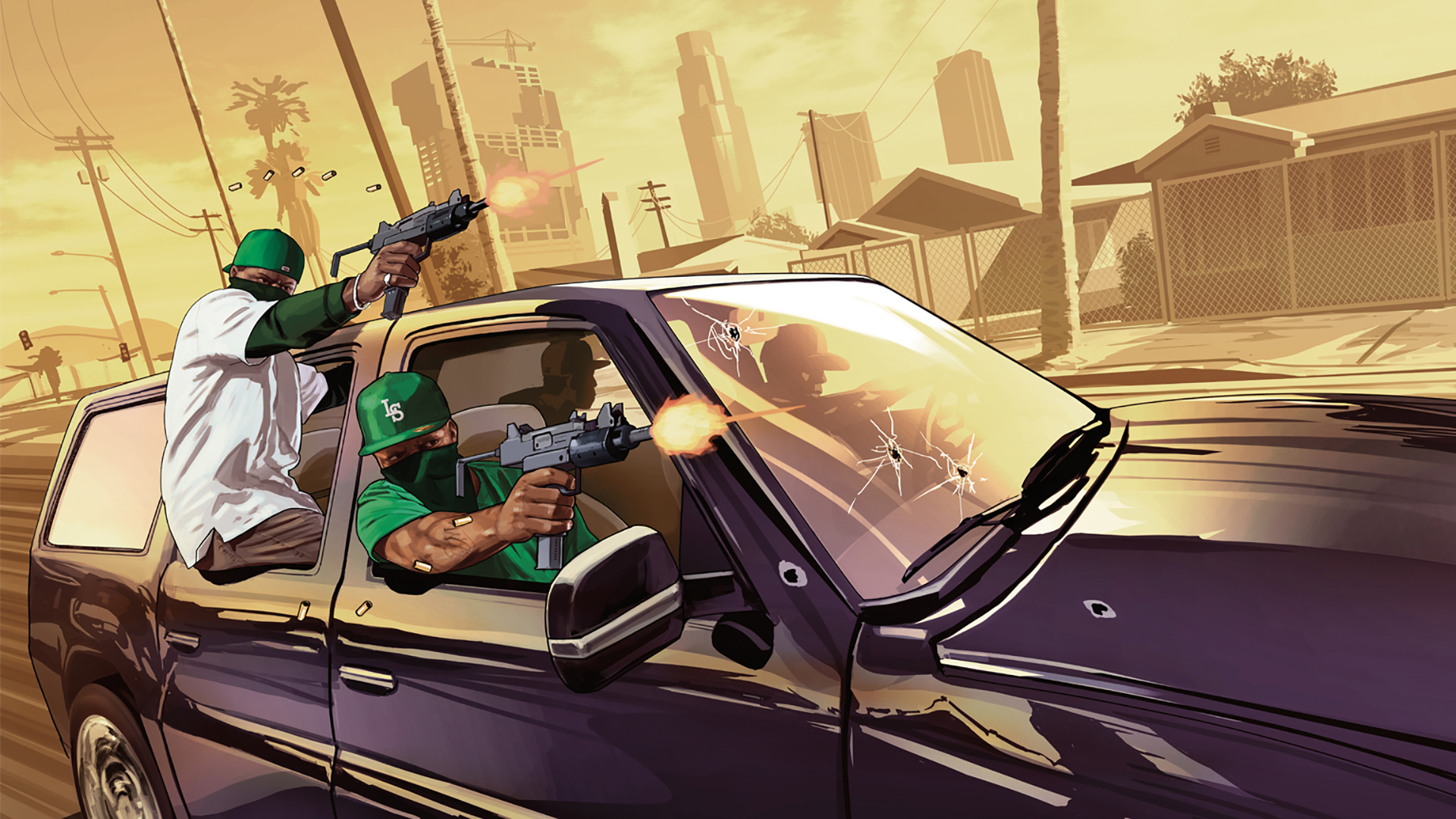 1920x1080 Grand Theft Auto V Gta5 Grove Street 1080p Laptop Full