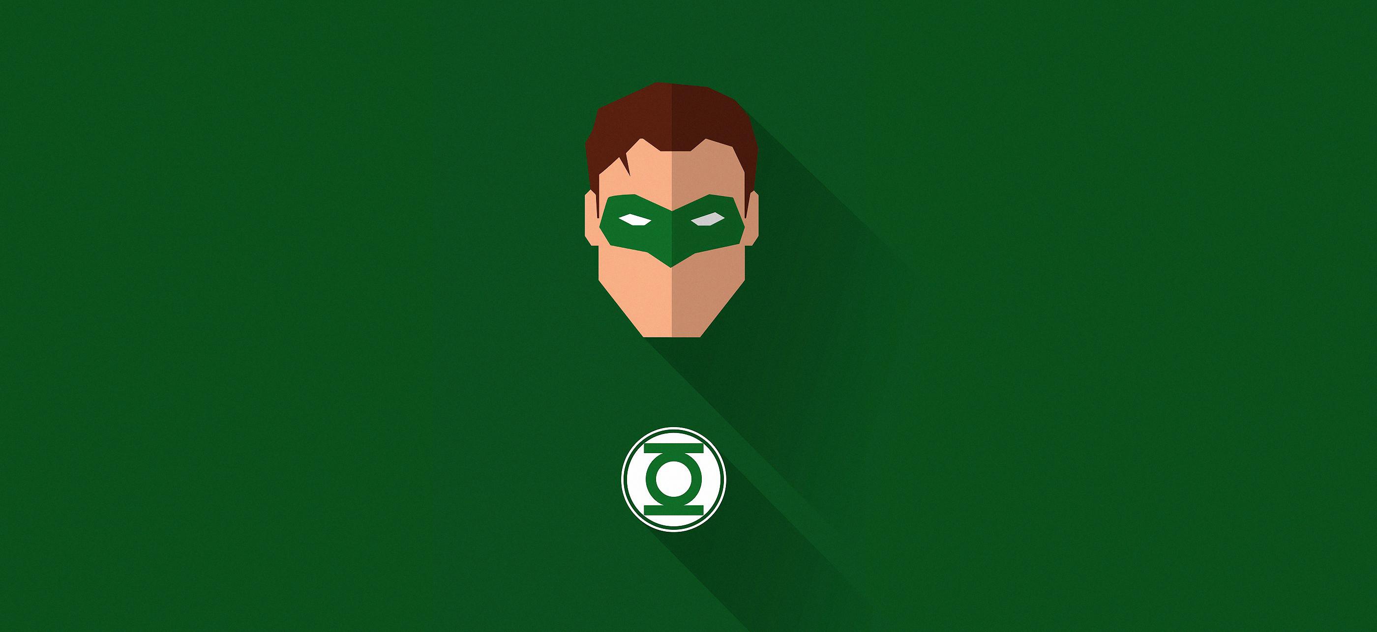 Minimalist Green Lantern Wallpaper