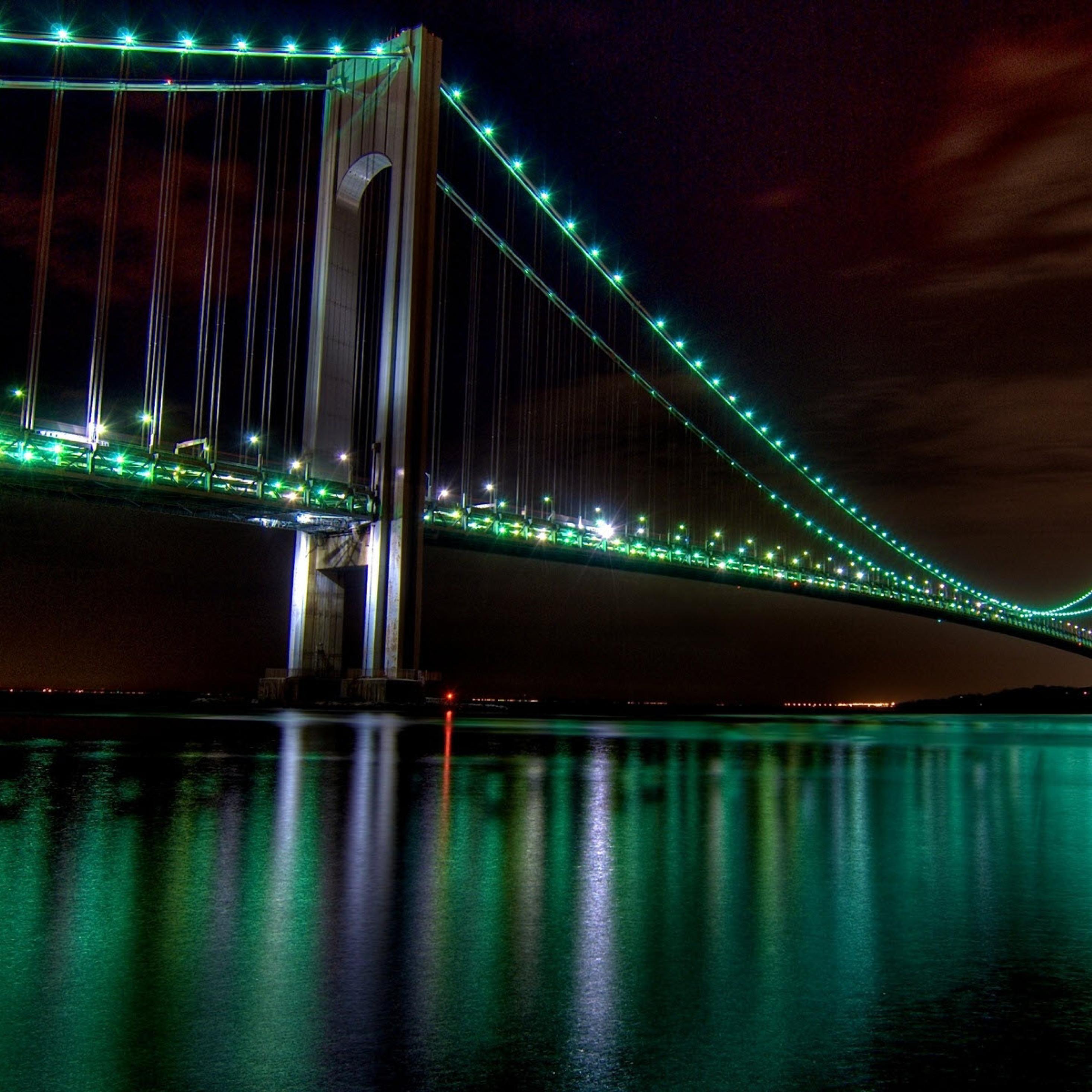 Green Light Bridge, Full HD Wallpaper