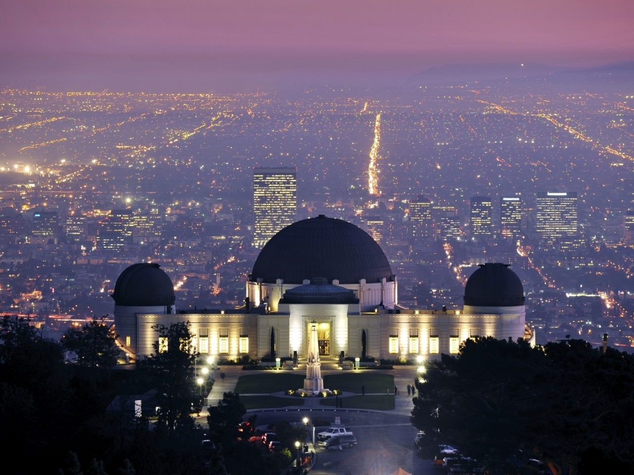 Griffith Observatory, ...