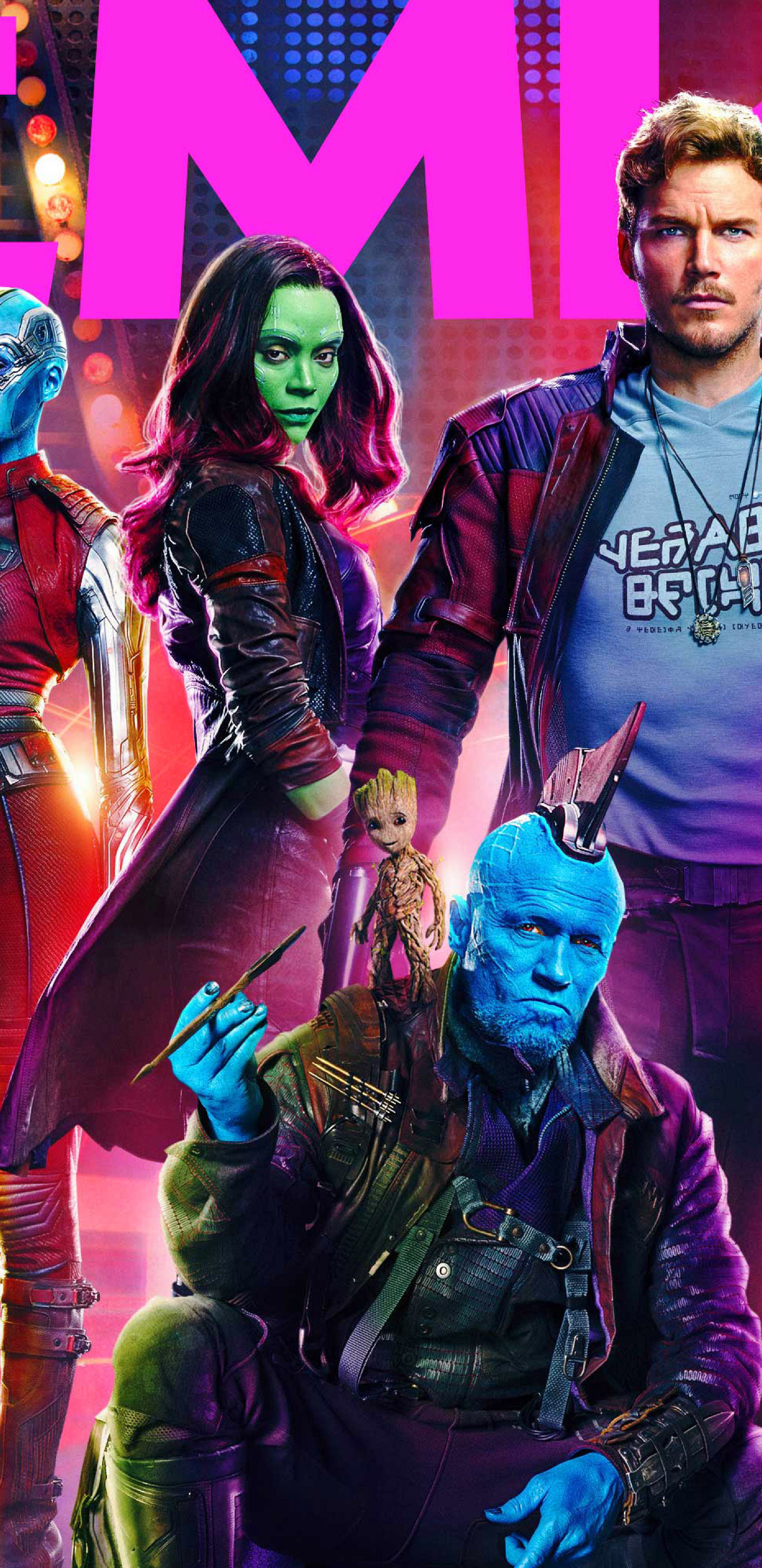 1440x2960 Guardians Of The Galaxy Vol 2 Empire Cover Samsung