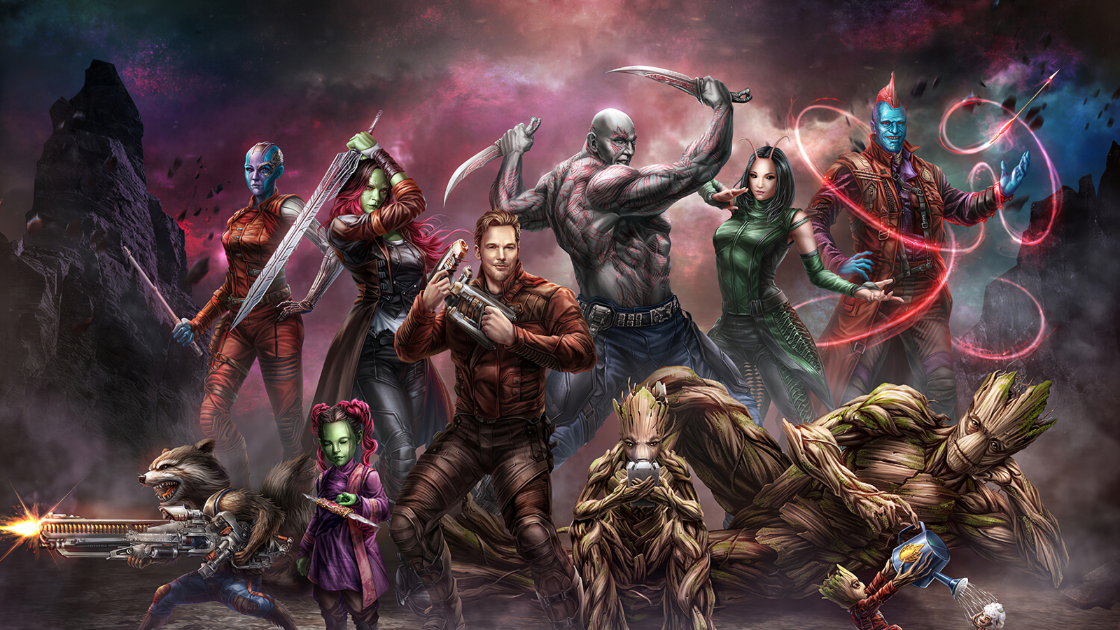 1600x900 Guardians Of The Galaxy 1600x900 Resolution Wallpaper Hd