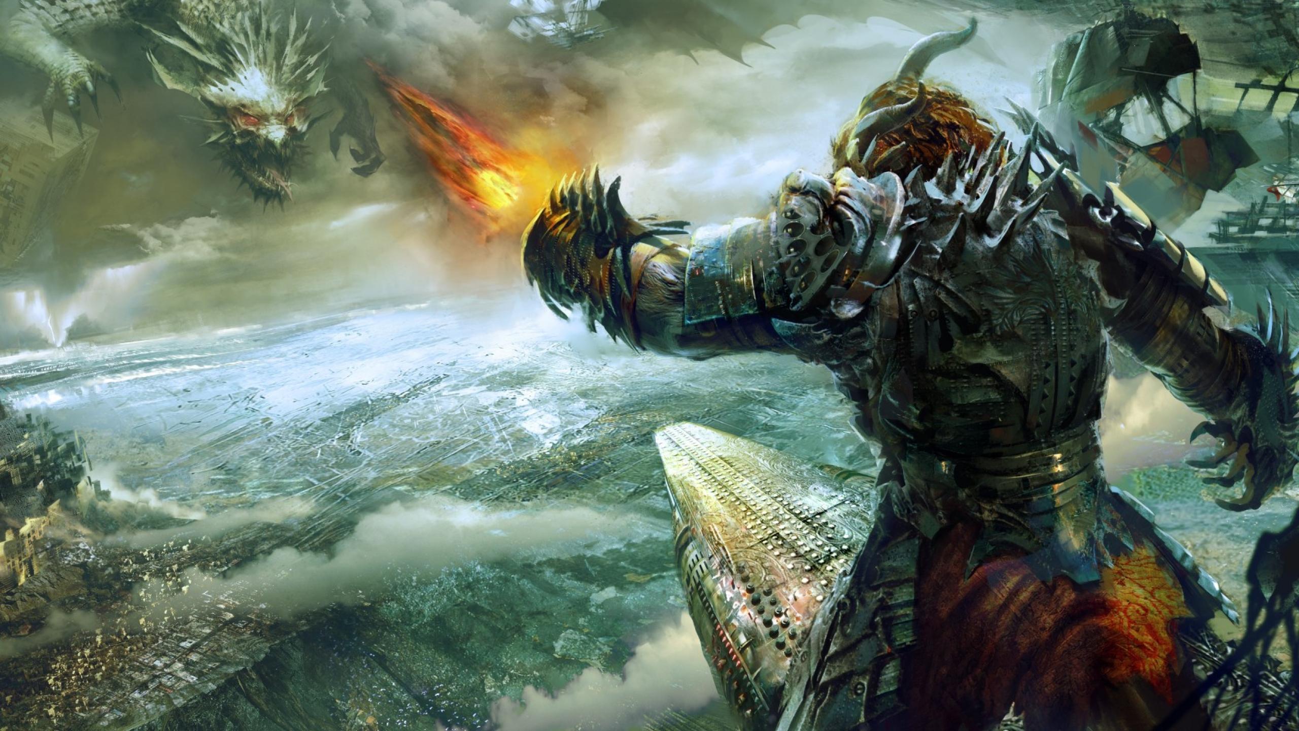 2560x1440 Guild Wars 2 Heart Of Thorns Battle 1440p Resolution