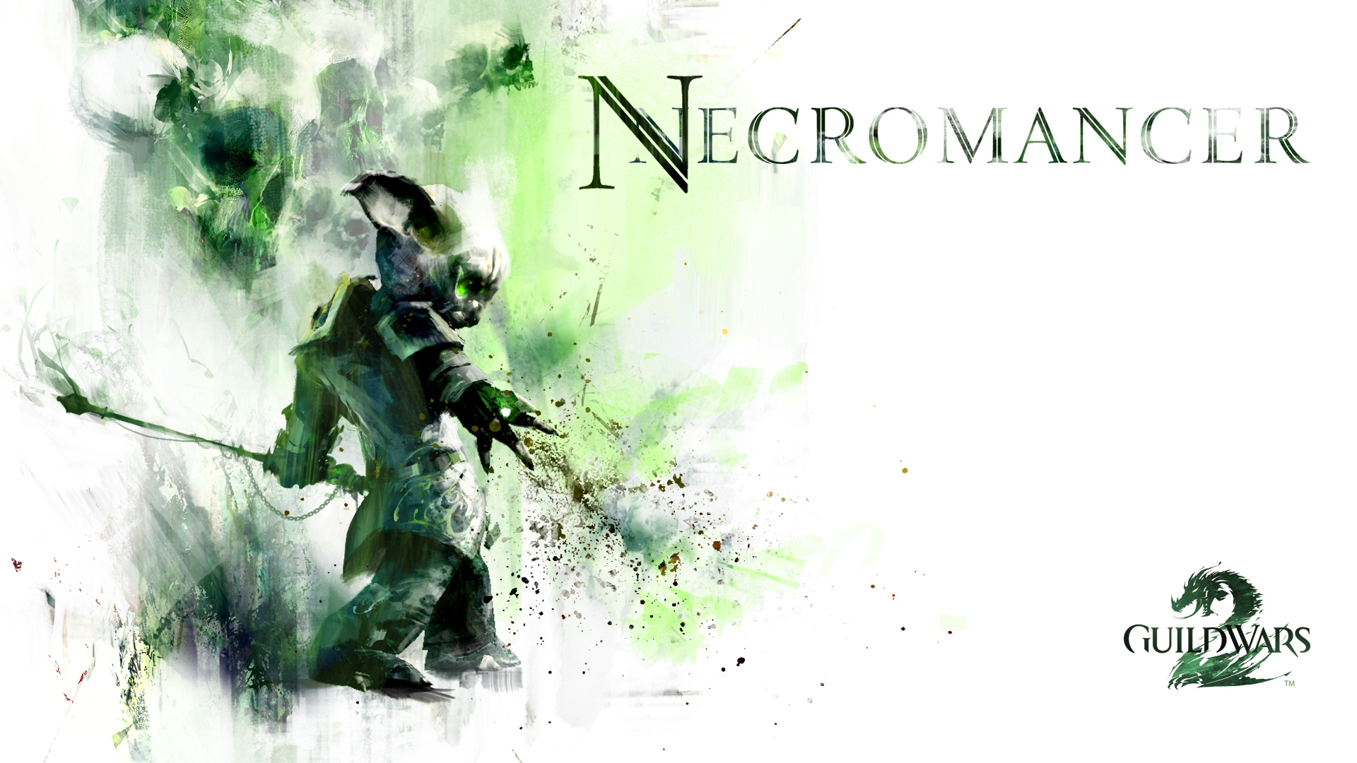 Guild Wars 2 Necromancer Graphics Wallpaper Hd Games 4k