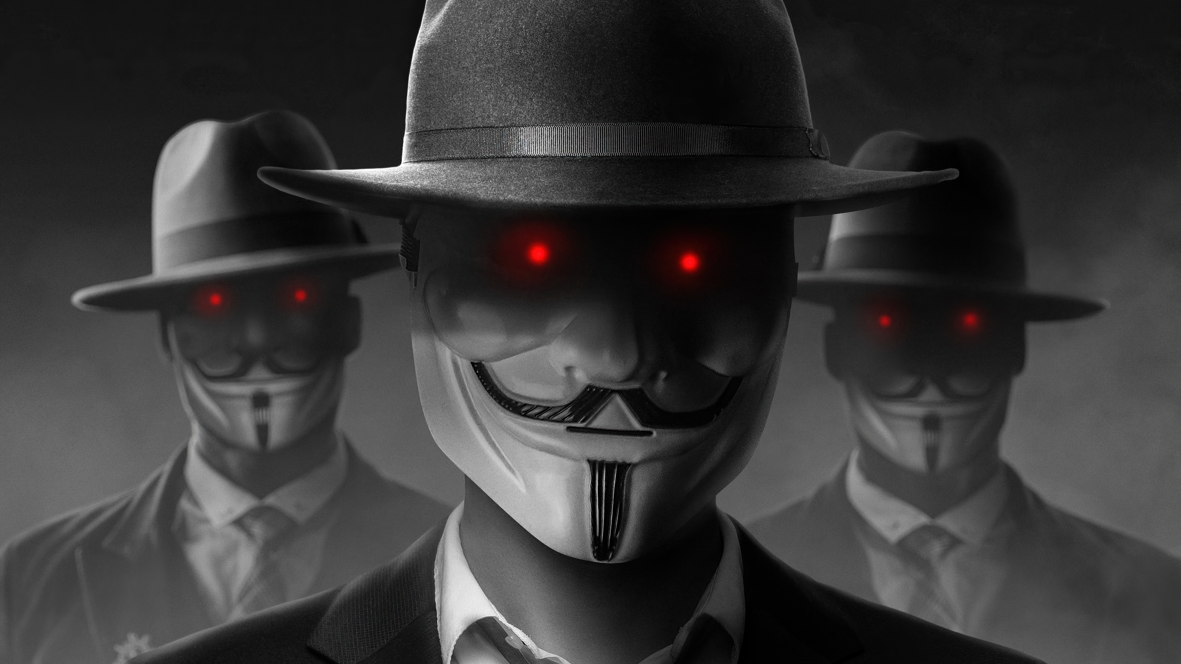 Hacker Anonymous Evil Wallpaper Hd Hi Tech 4k Wallpapers Images Photos And Background