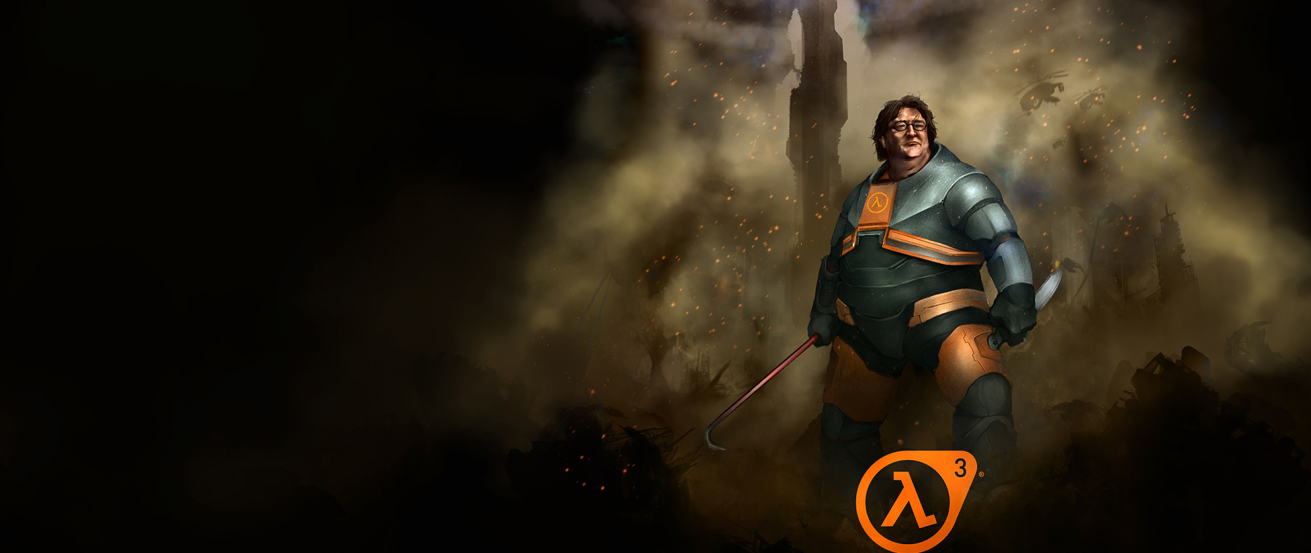 Half Life 3 Gabe Newell Funny Full Hd Wallpaper