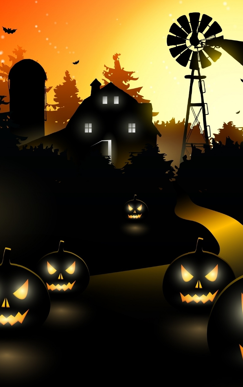Download Wallpaper Halloween Iphone 5 - halloween-haunted-house_59586_840x1336  You Should Have_52616.jpg