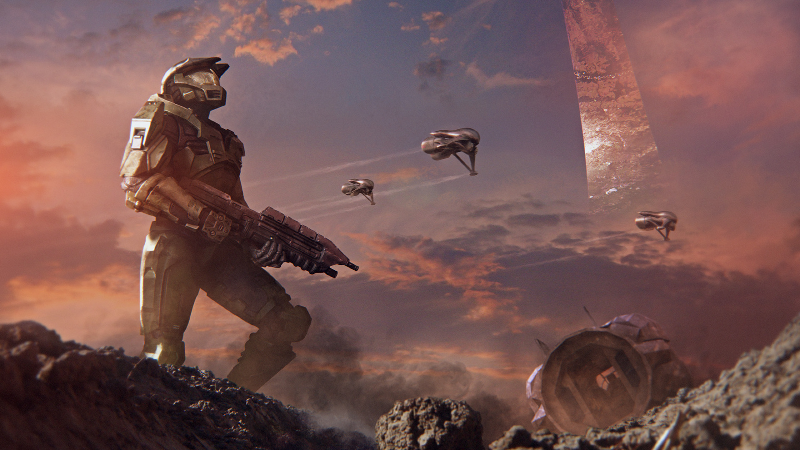 2560x1440 Halo Alpha Battle 1440p Resolution Wallpaper Hd