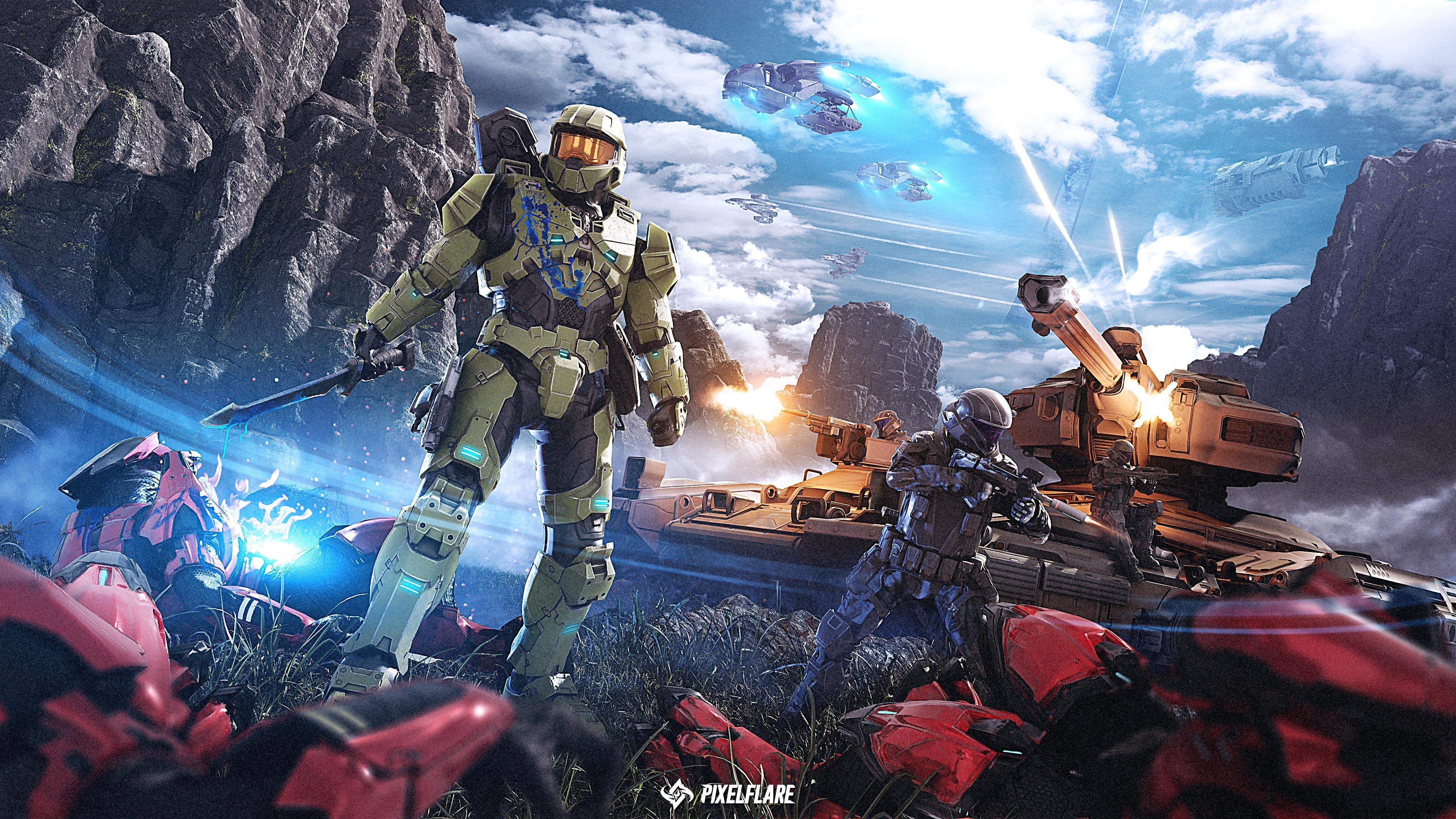 Halo Master Chief Wallpaper, HD Games 4K Wallpapers ...