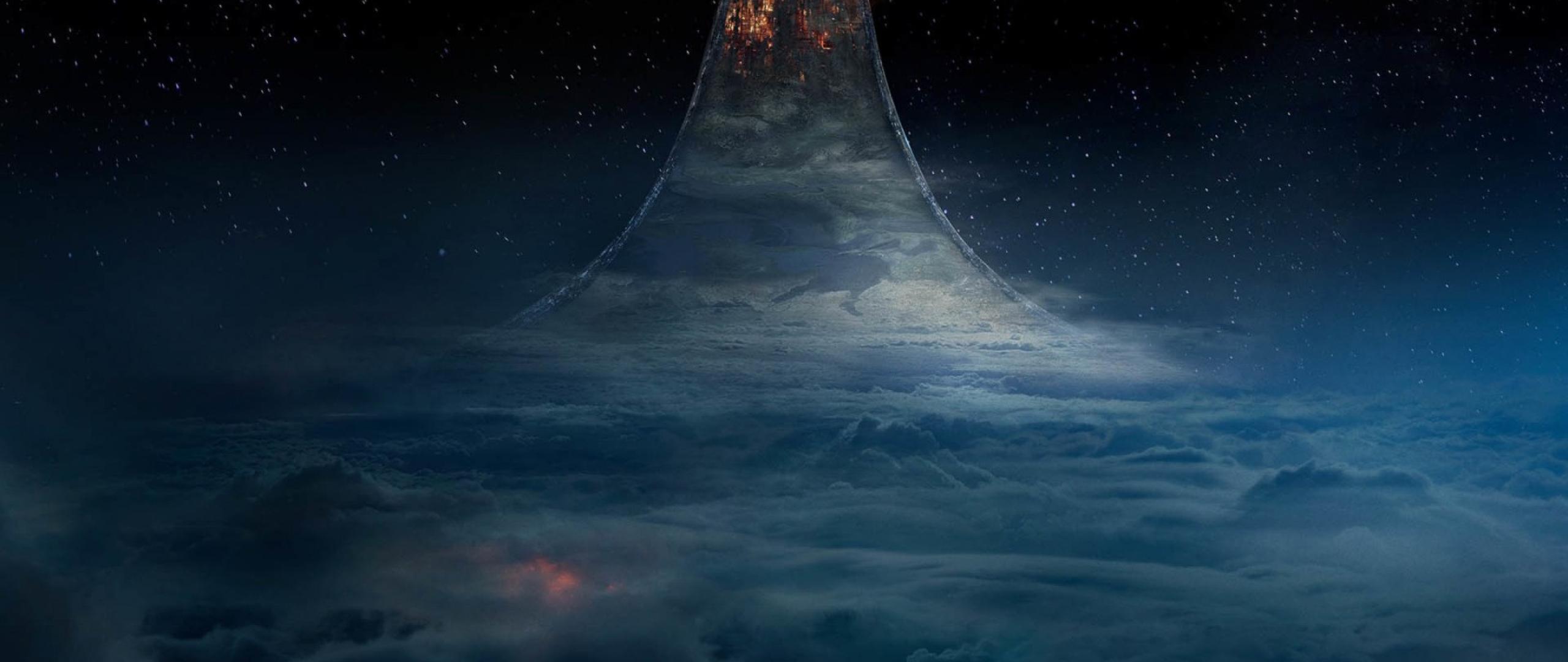 Halo Nightfall Ring Planet Full Hd Wallpaper