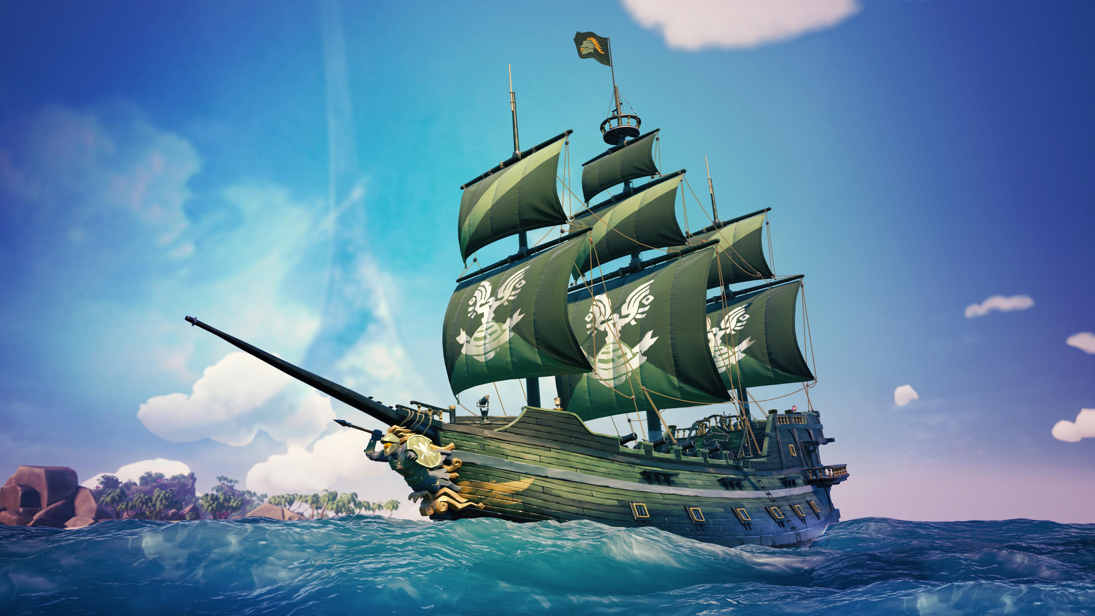 3840x2160 Halo Spartan Sea Of Thieves 4k Wallpaper Hd Games 4k