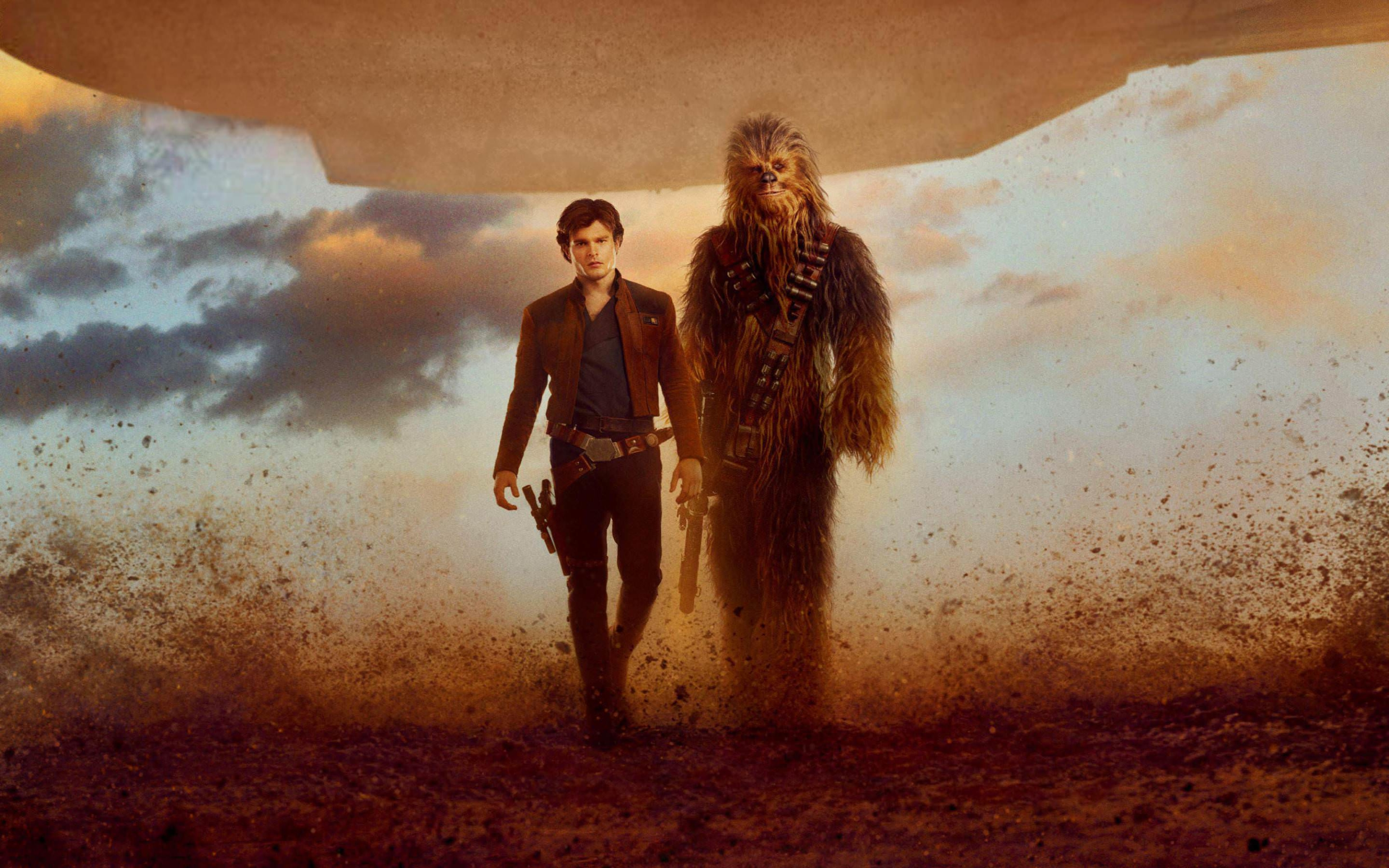 3000x1875 Han Solo And Chewbacca In Solo A Star Wars Story