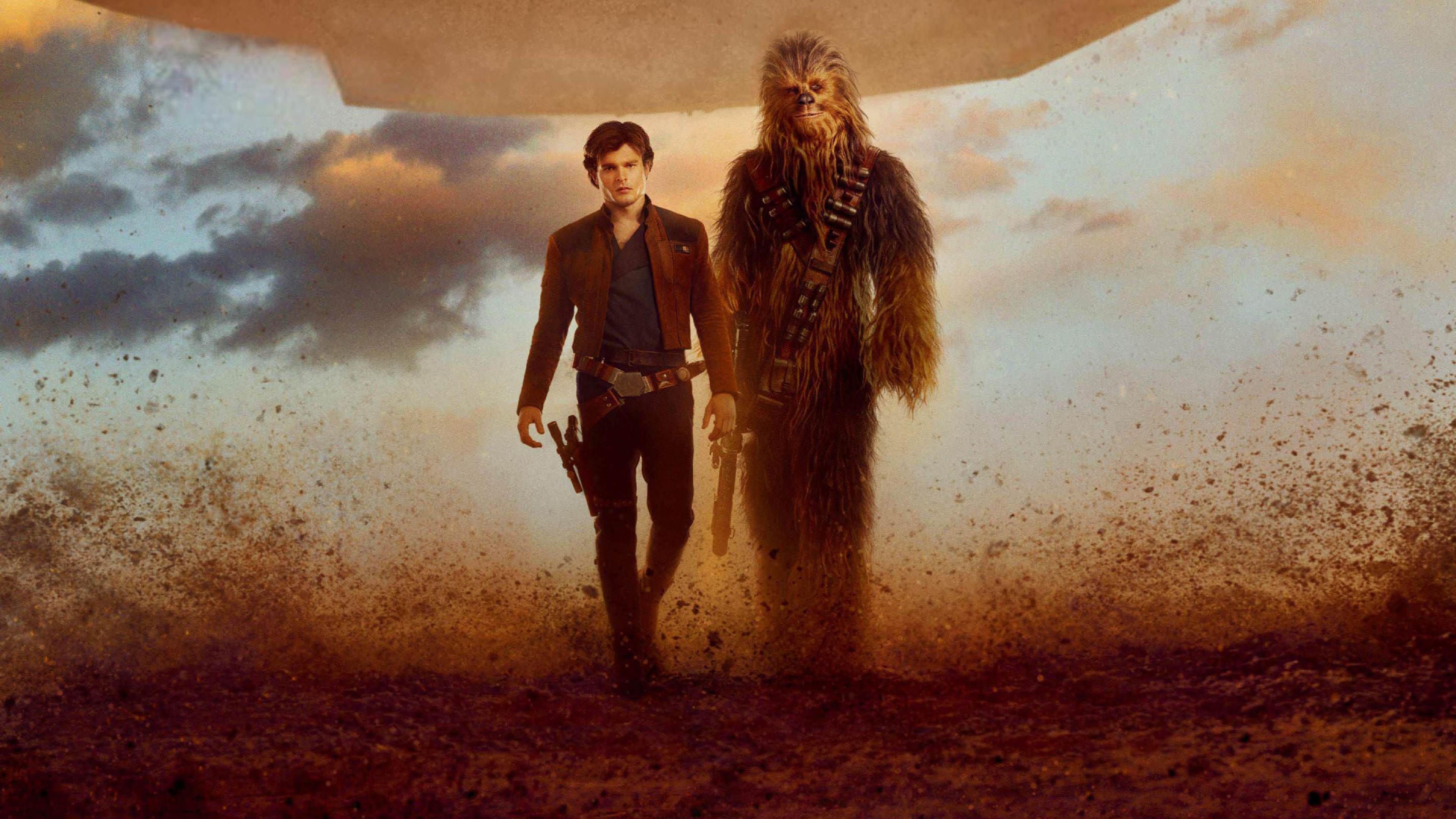 3840x2160 Han Solo And Chewbacca In Solo A Star Wars Story 4k Wallpaper Hd Movies 4k Wallpapers Images Photos And Background