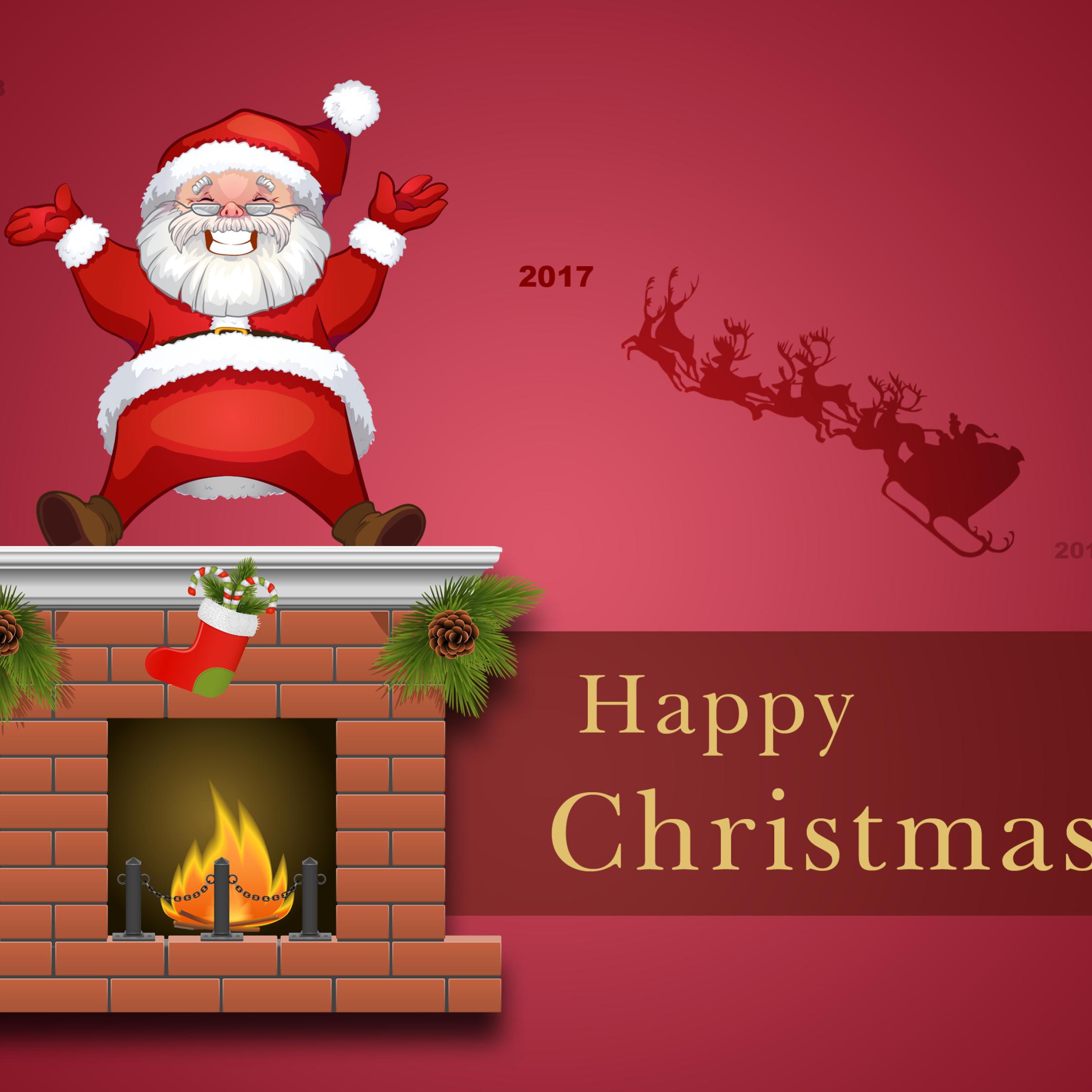Download Happy Christmas 2017 1680x1050 Resolution Full HD 2K Wallpaper