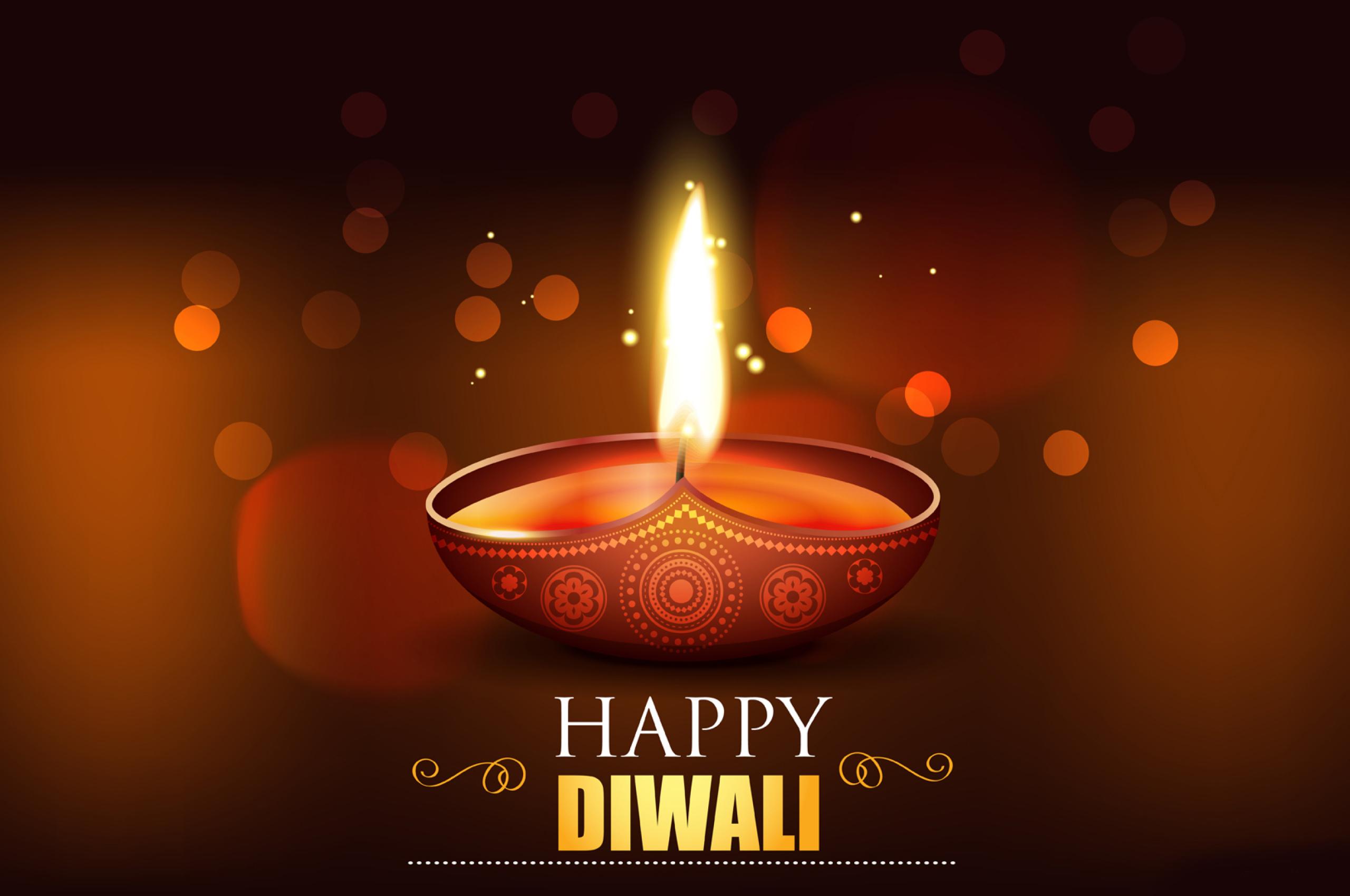 Happy Diwali 2020 Wallpaper in 2560x1700 Resolution