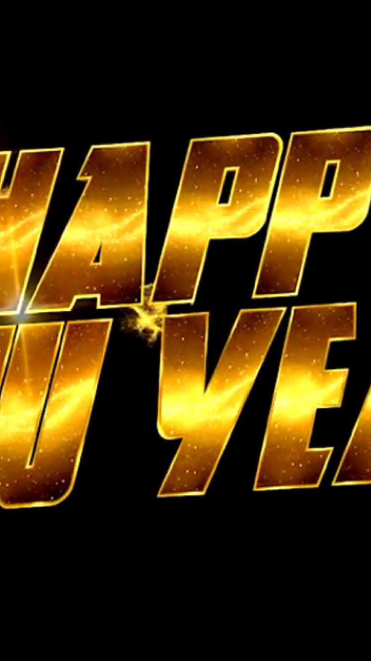 750x1334 Happy New Year 2014 Movie Poster iPhone 6, iPhone