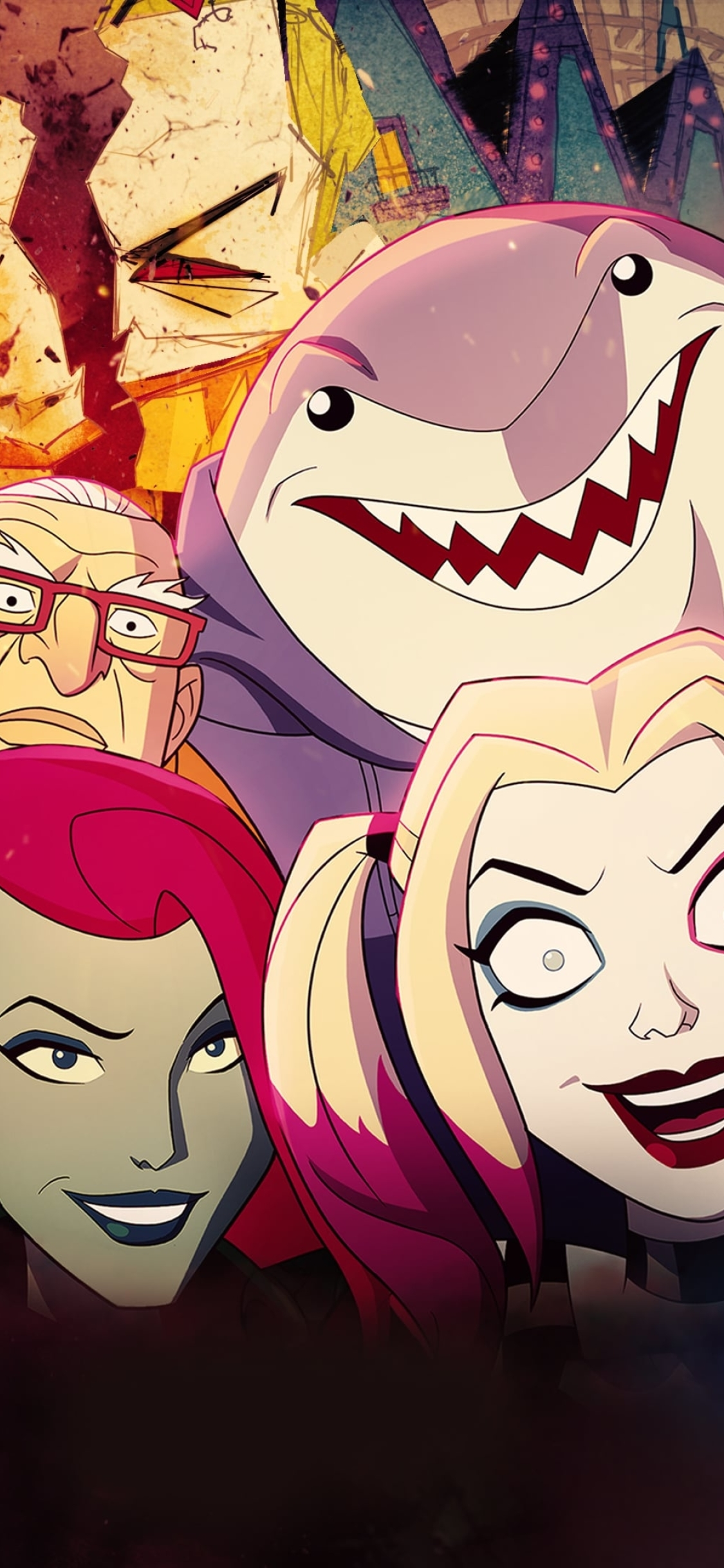 1125x2436 Harley Quinn Animated Series Iphone XS,Iphone 10 ...