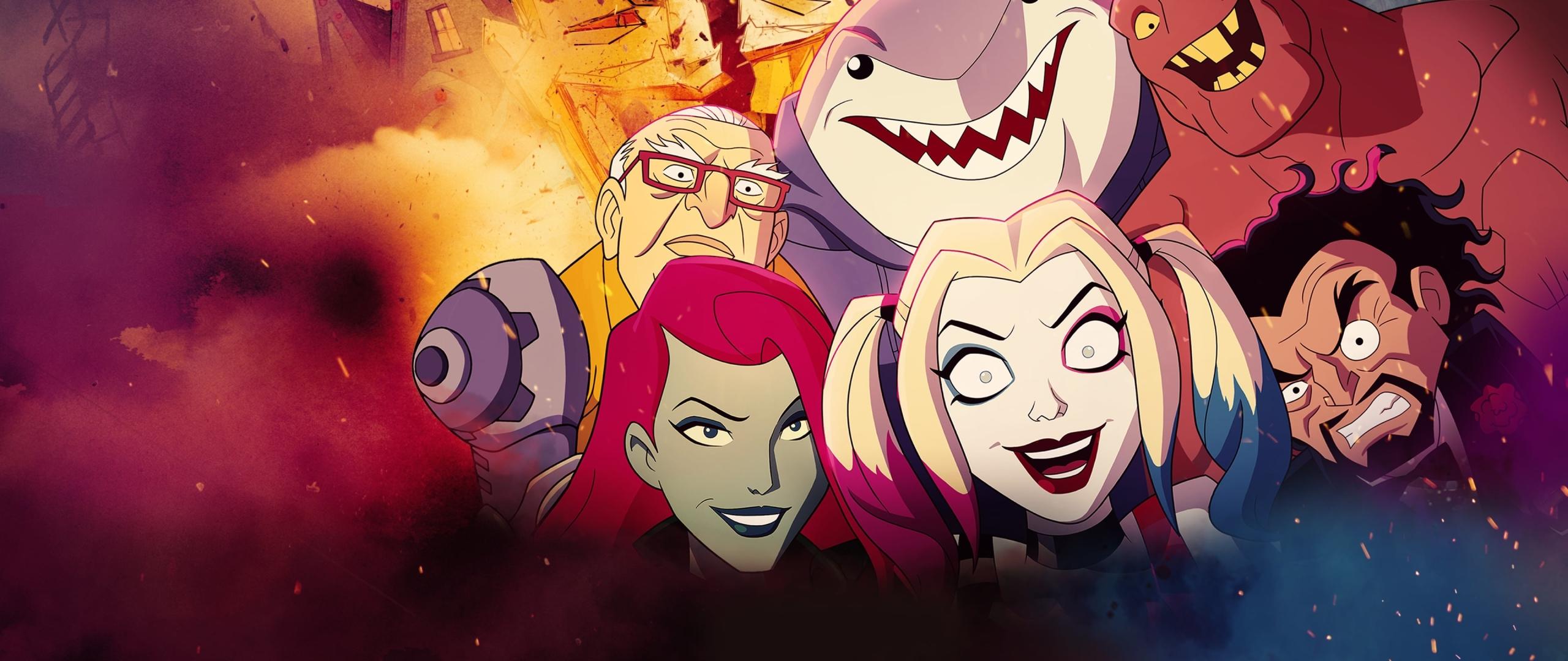 2560x1080 Harley Quinn Animated Series 2560x1080 ...