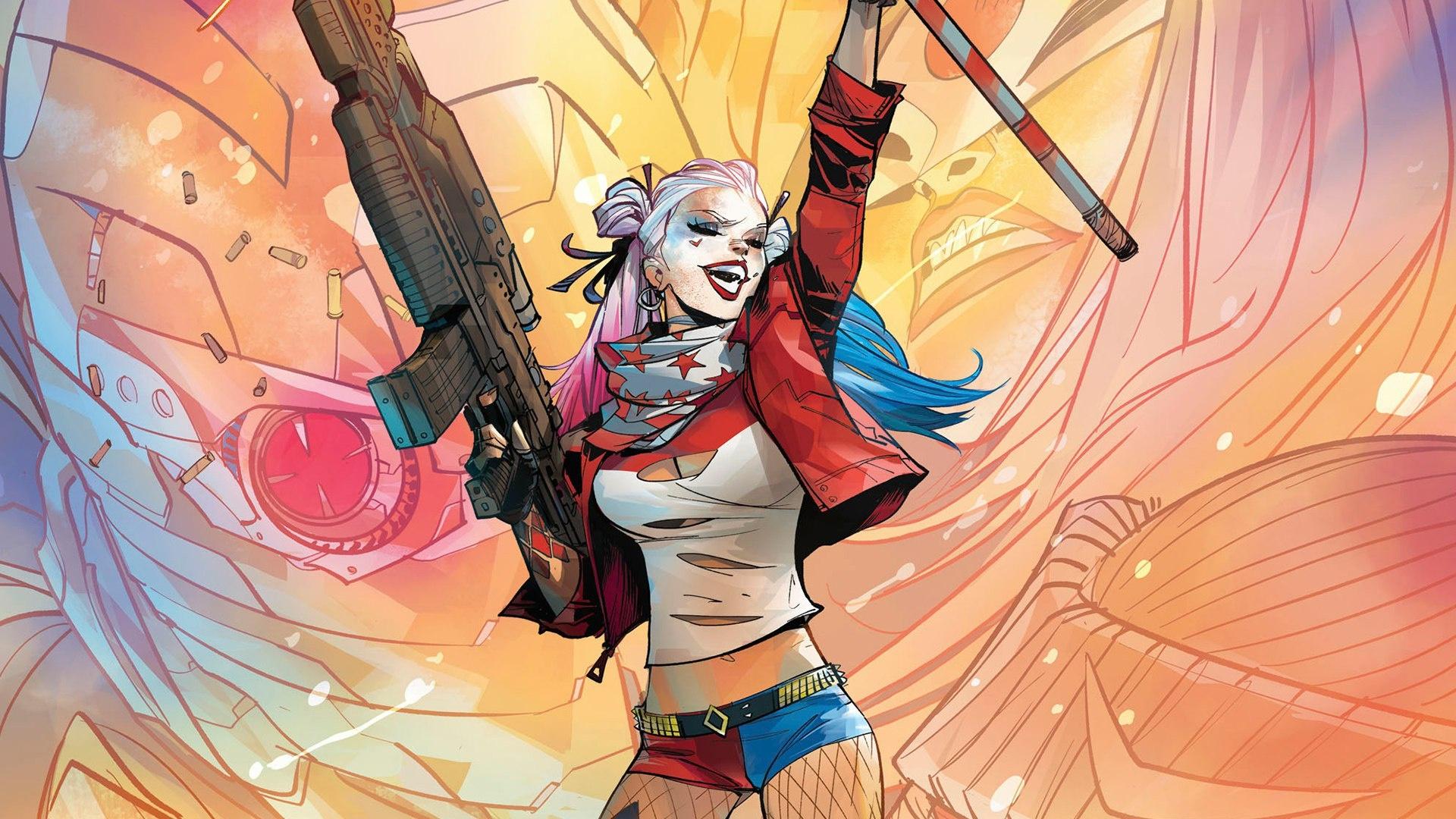 3840x2400 Harley Quinn Comic Art 4K 3840x2400 Resolution ...