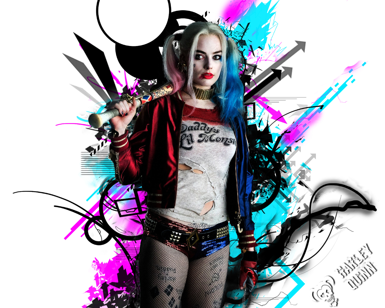 1280x1024 Harley Quinn 1280x1024 Resolution Wallpaper, HD ...