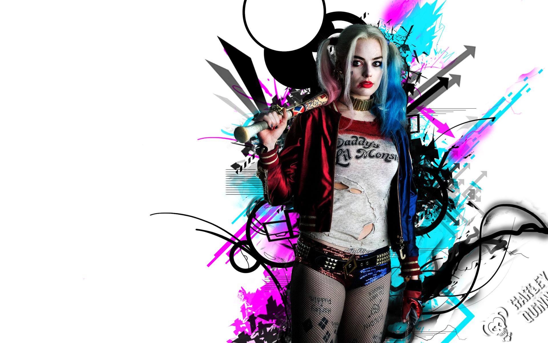 Harley Quinn, Full HD 2K Wallpaper