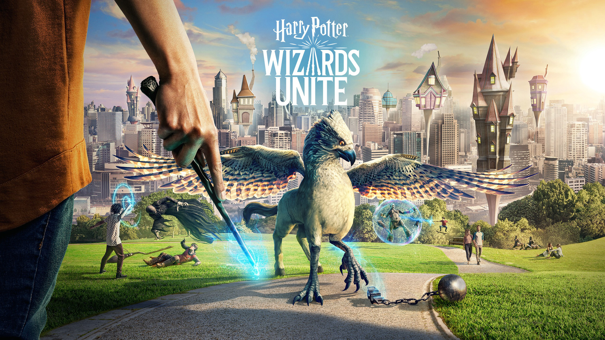 1024x600 Harry Potter Wizards Unite Game 1024x600 Resolution