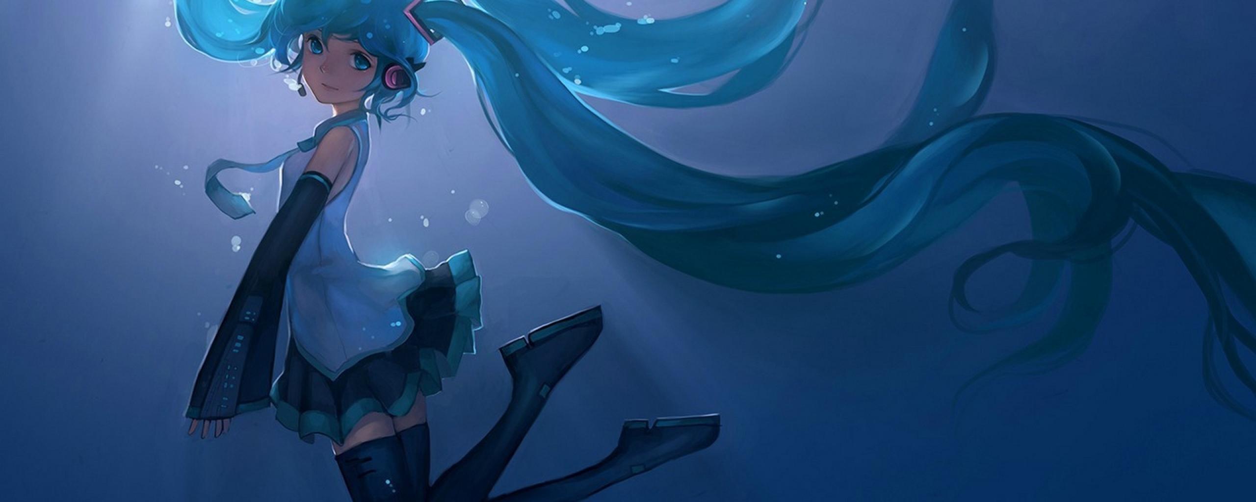 Hatsune Miku, Vocaloid, Girl, Full HD Wallpaper