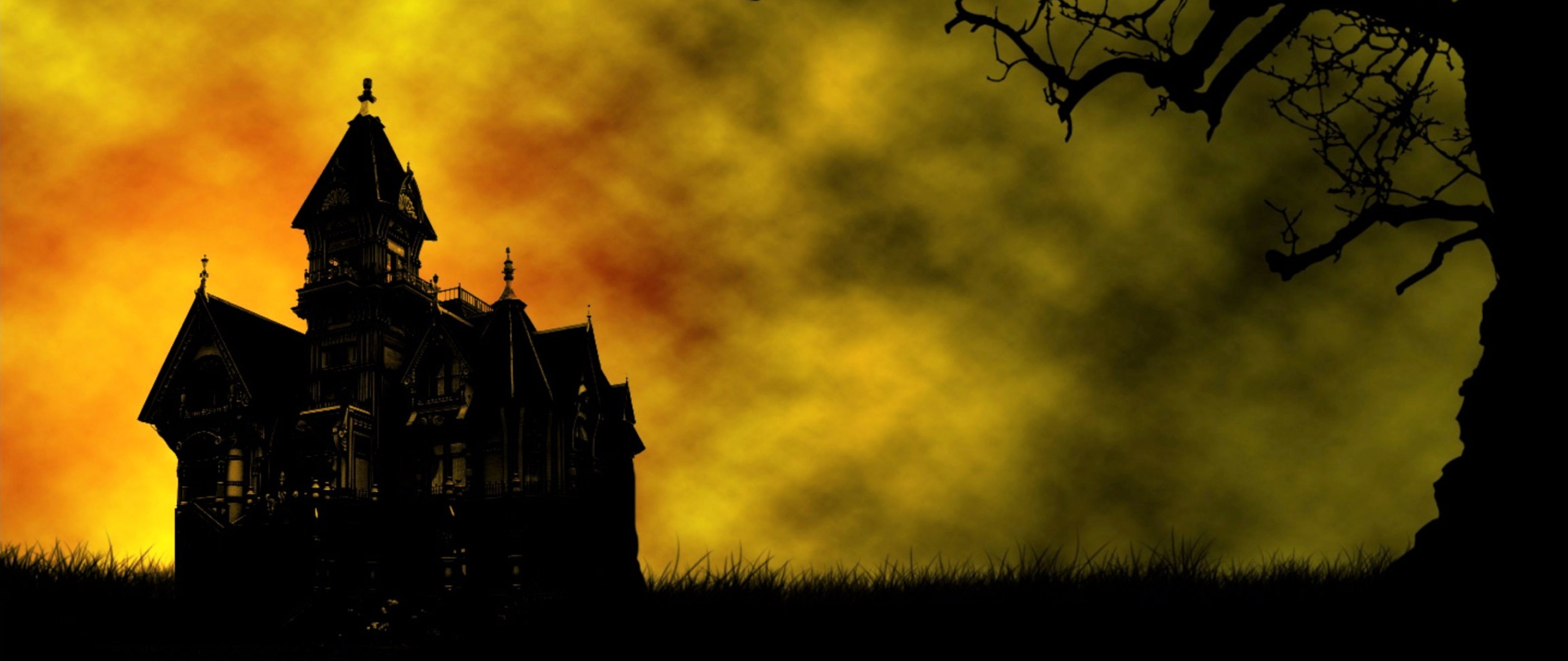 Haunted house full hd 2k wallpaper for House image full hd