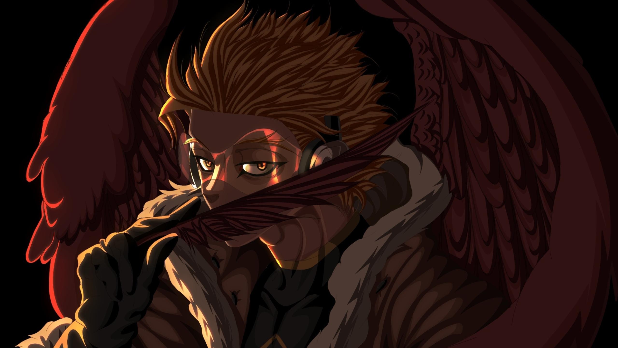 2560x1440 Hawks Boku No Hero Academia 1440p Resolution Wallpaper