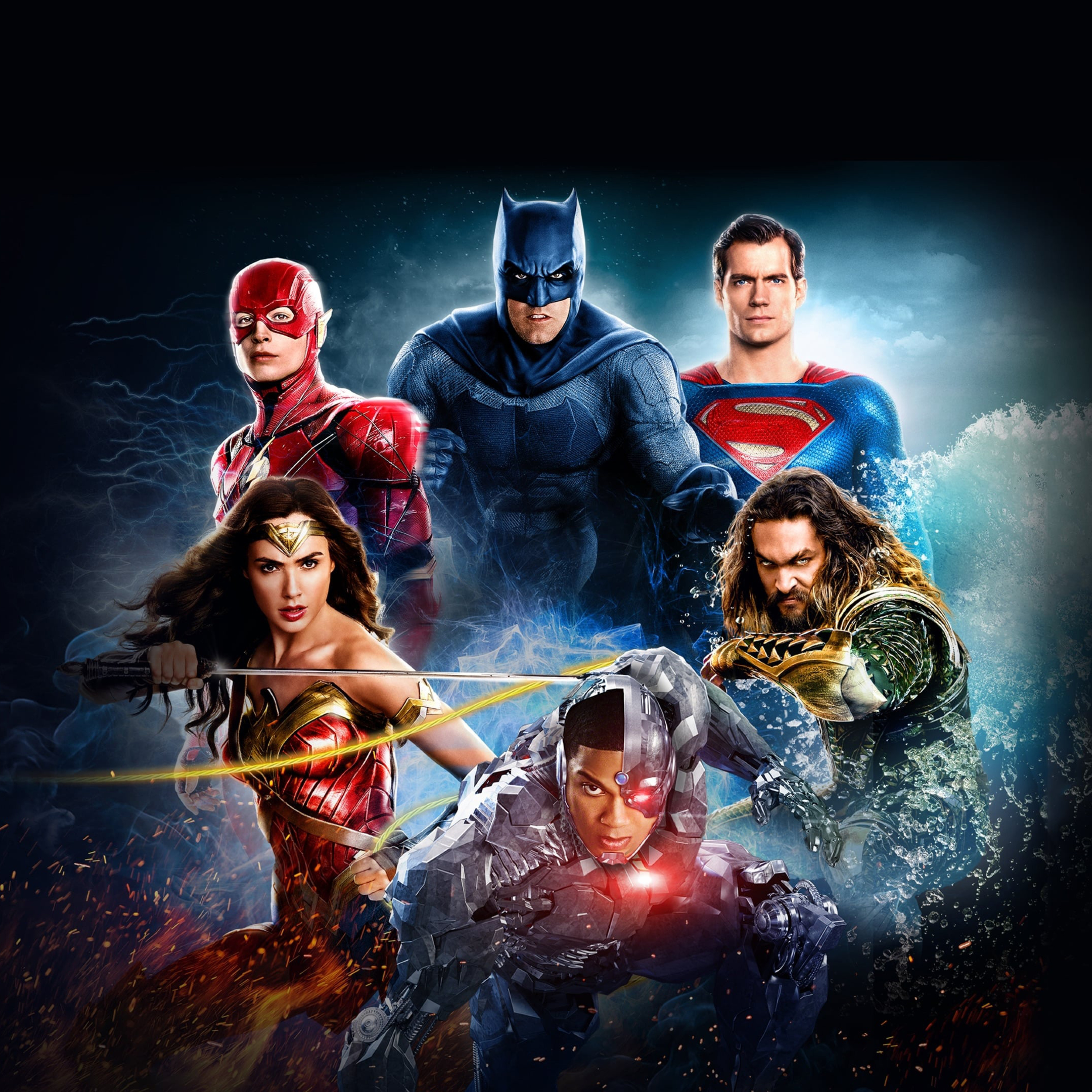 2932x2932 HBO Justice League Synder Cut 2021 Ipad Pro ...