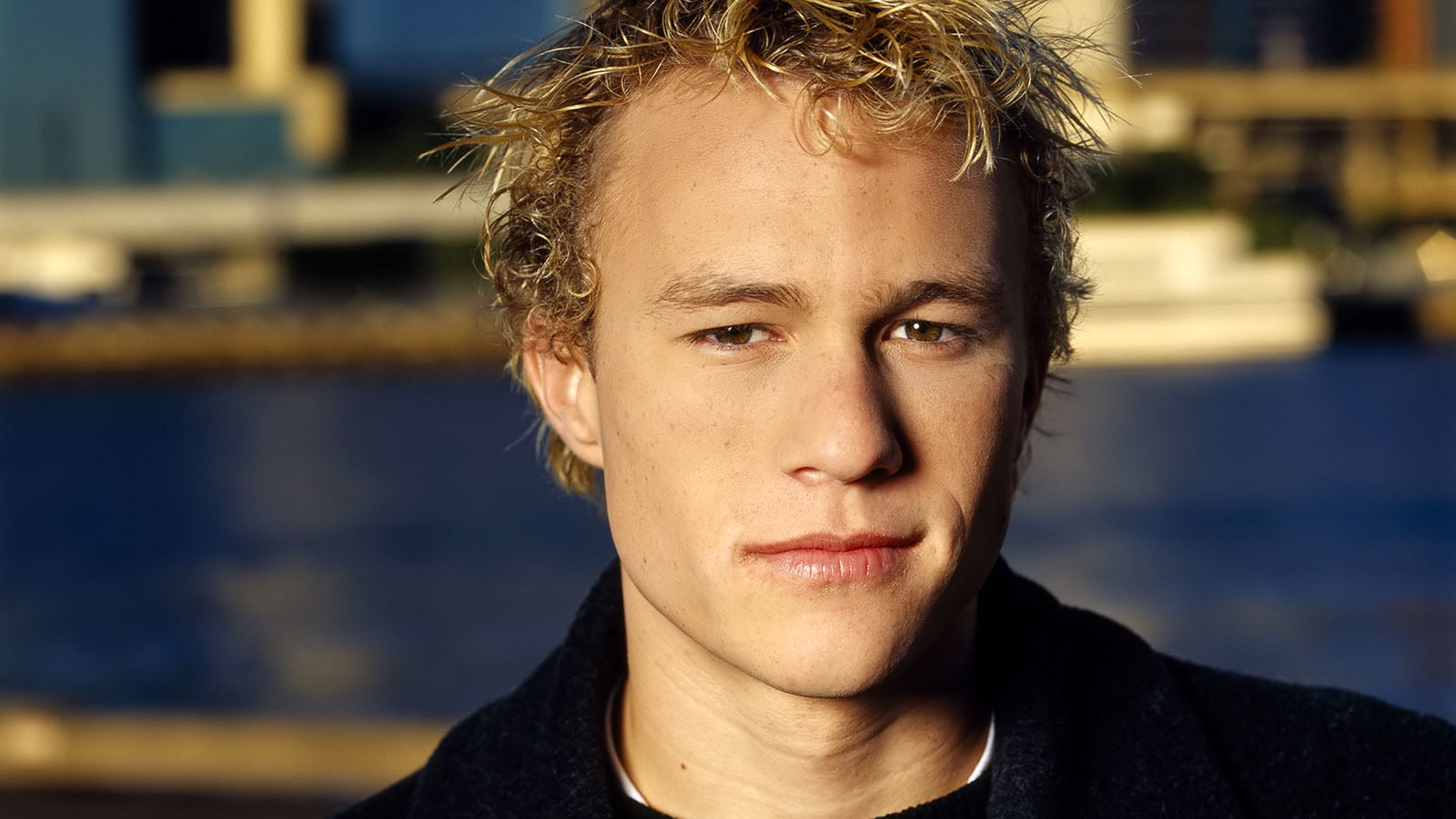 10x10 Heath Ledger New Hair Cut Images 10K Wallpaper, HD