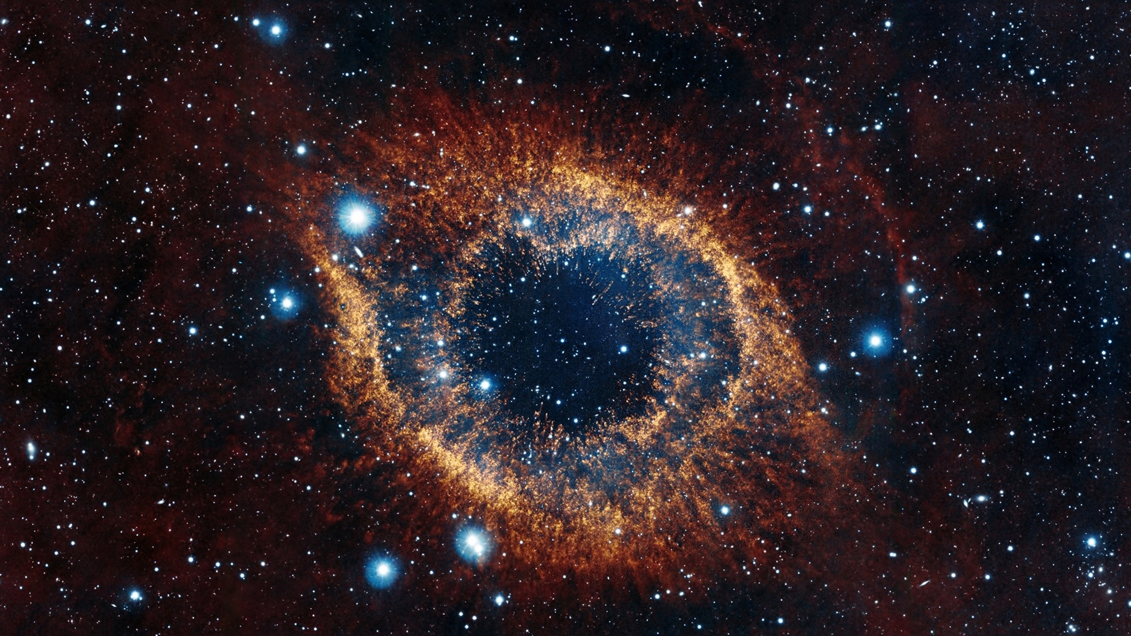 3840x2160 helix nebula, space, stars 4K Wallpaper, HD Space 4K Wallpapers, Images, Photos and ...